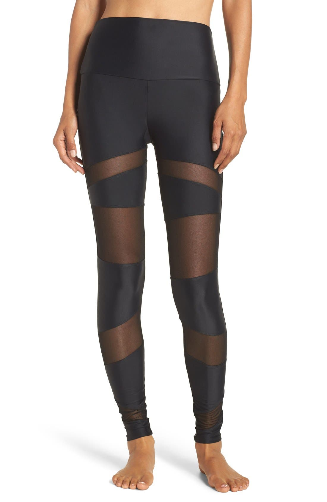ONZIE Mesh Inset Leggings