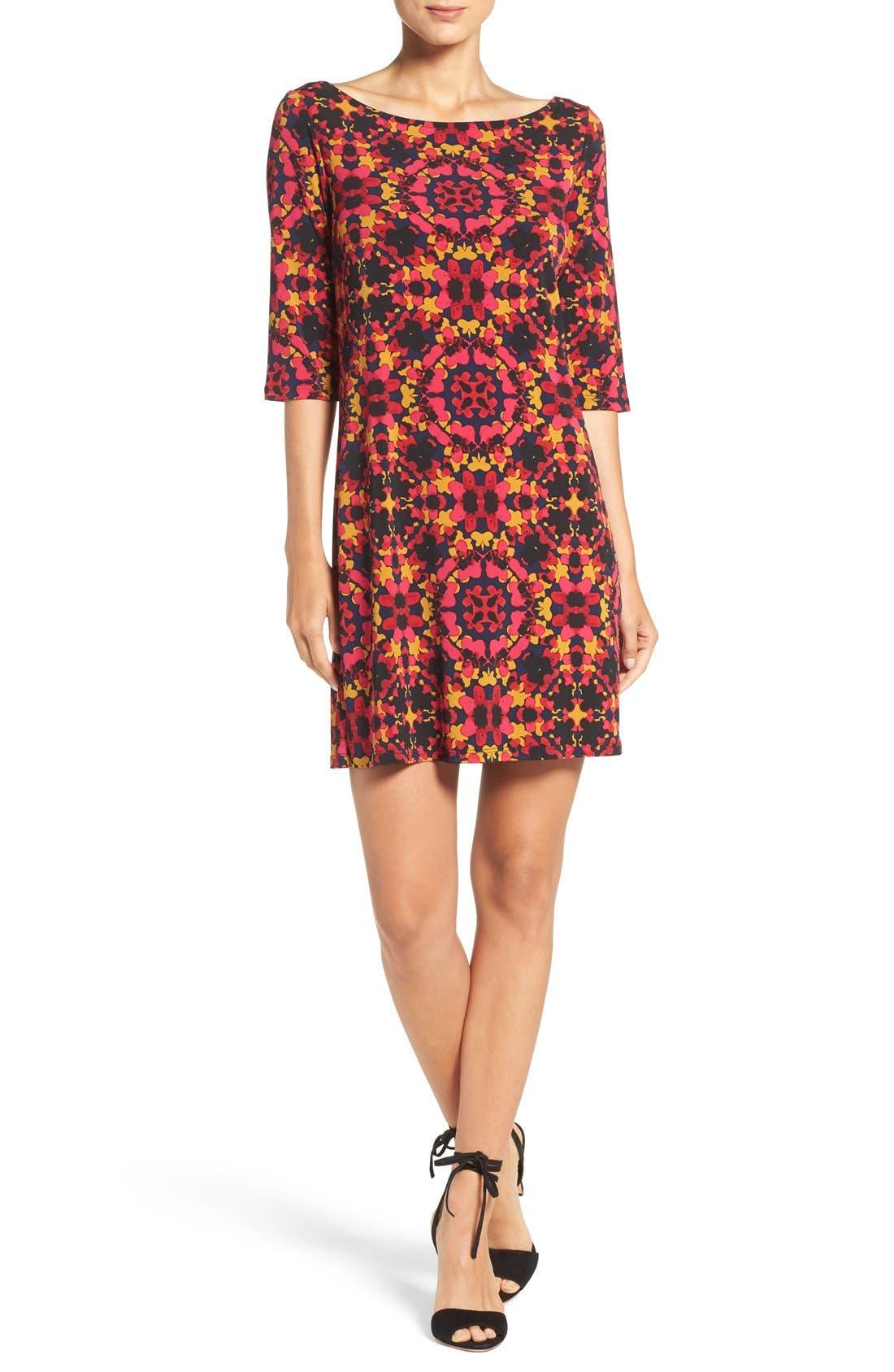 Alternate Image 4  - Leota Dolman Sleeve Jersey Sheath Dress