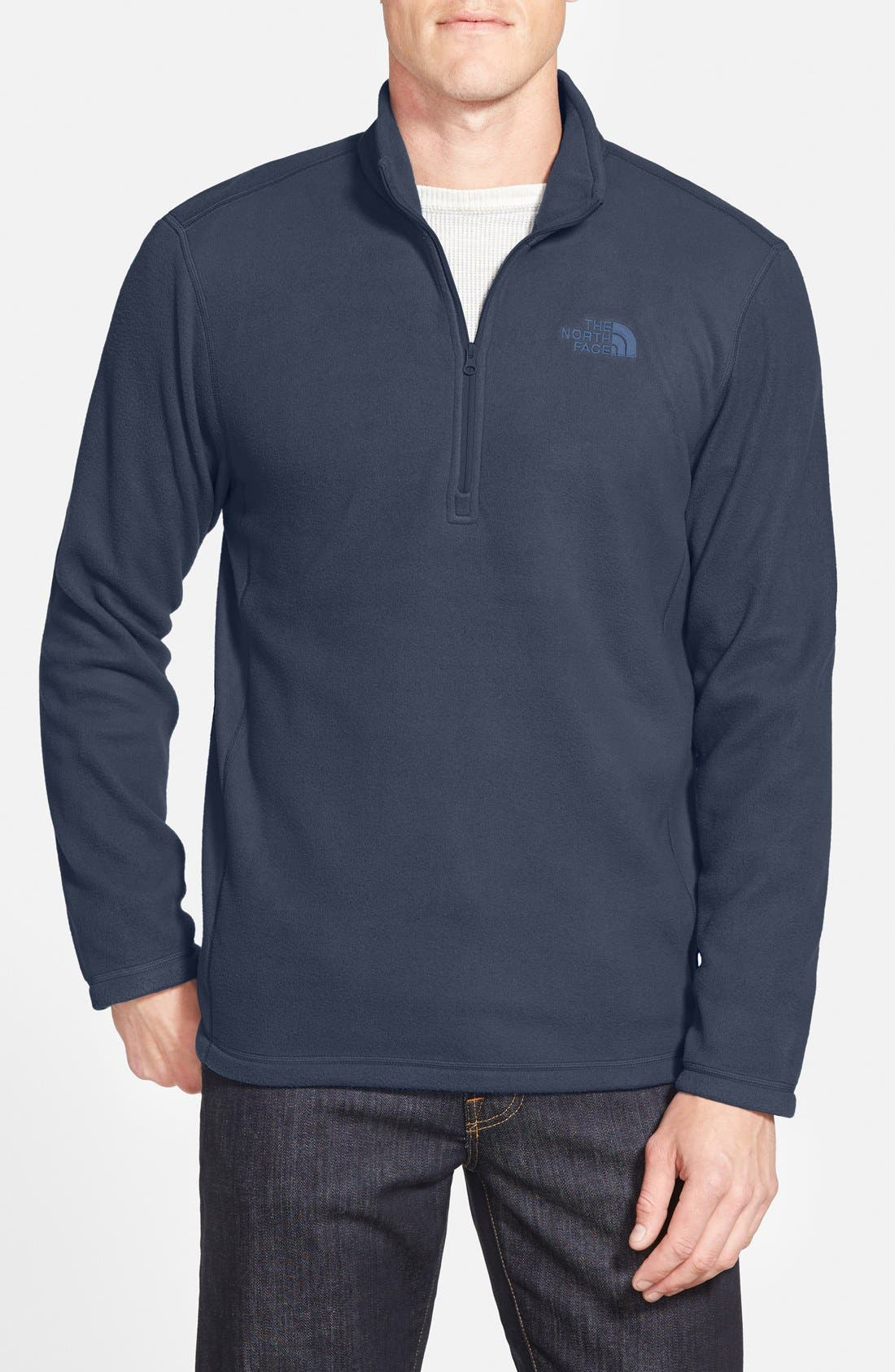 Main Image - The North Face 'TKA 100 Glacier' Quarter Zip Fleece Pullover