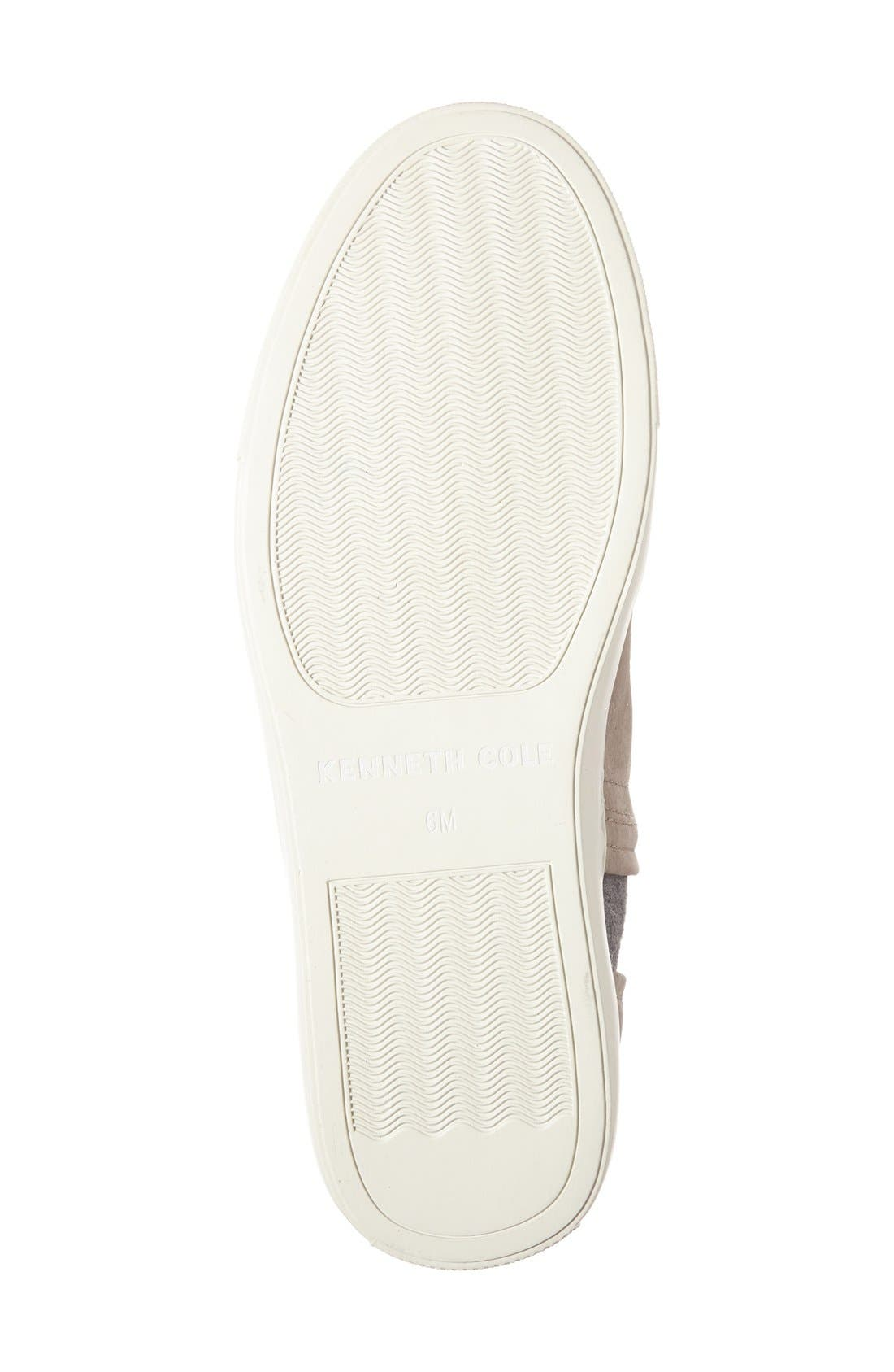 Alternate Image 4  - Kenneth Cole New York 'Ken' Leather Slip-On Sneaker (Women)