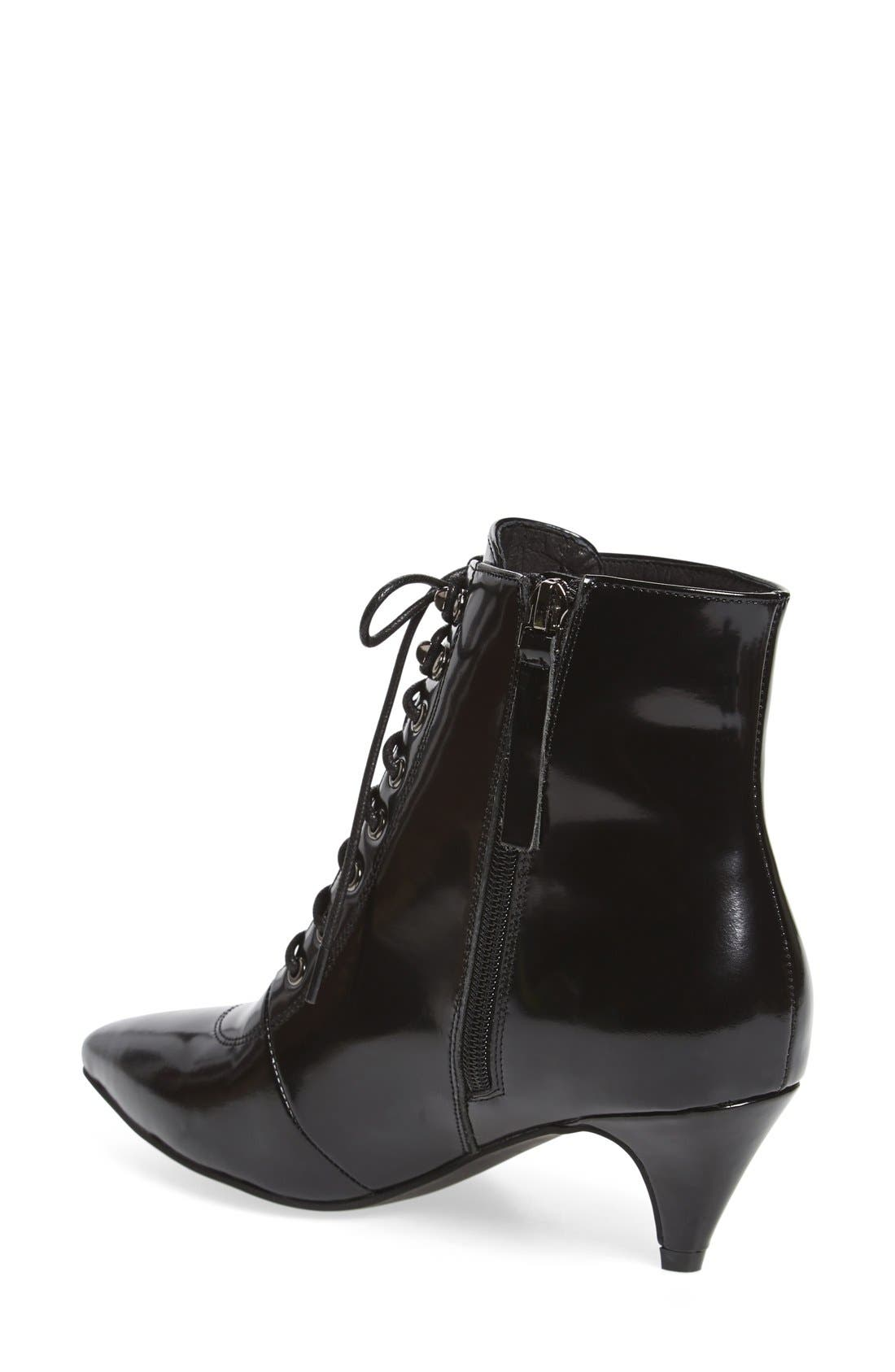 Alternate Image 2  - Jeffrey Campbell 'Nessarose' Lace-Up Bootie (Women)