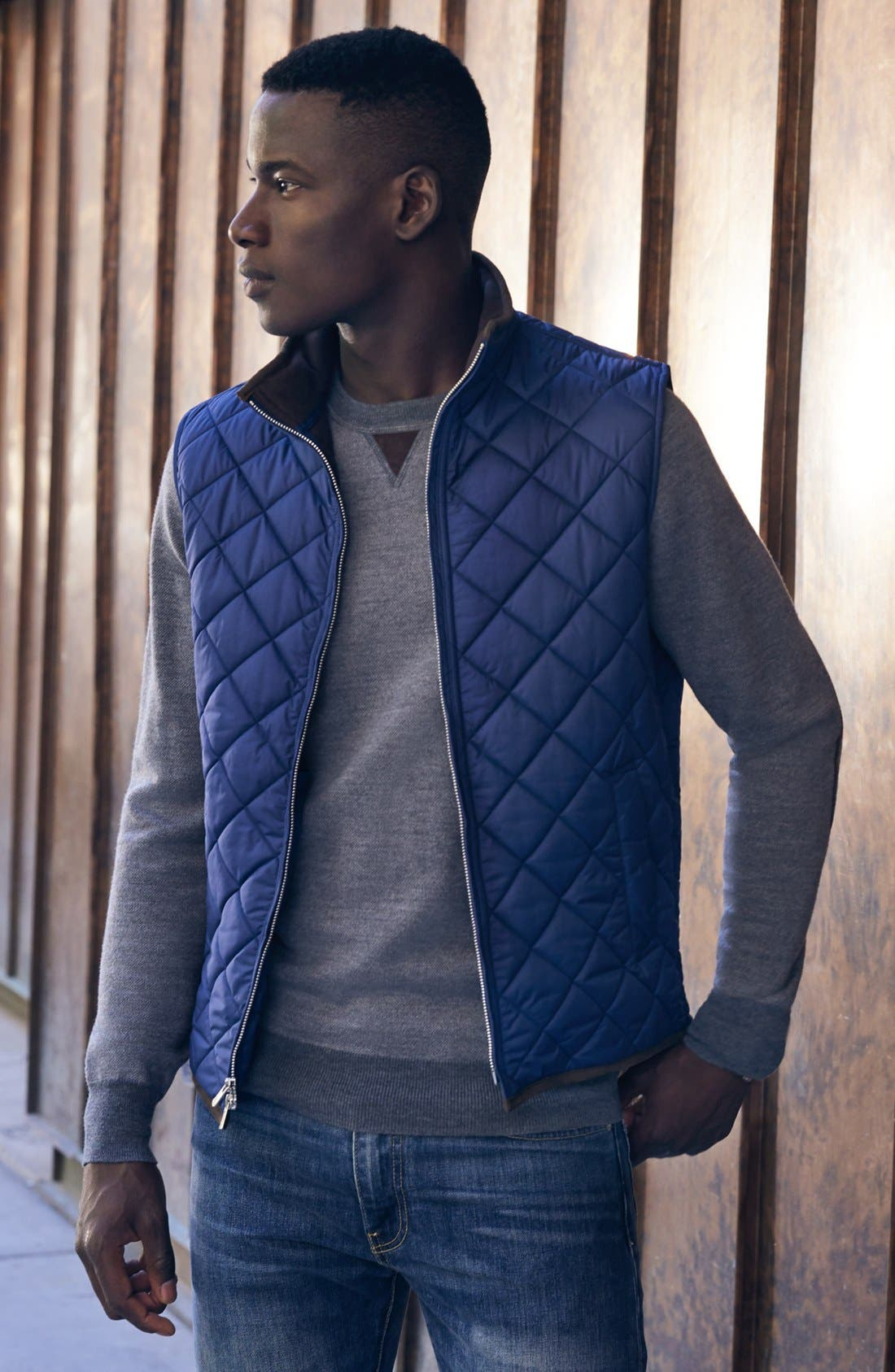 Alternate Image 6  - Peter Millar 'Hudson' Lightweight Quilted Vest
