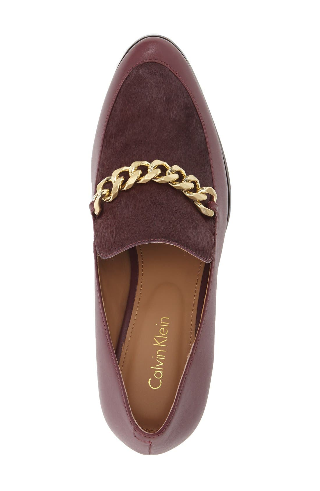 Alternate Image 3  - Calvin Klein 'Finney' Loafer Pump (Women)