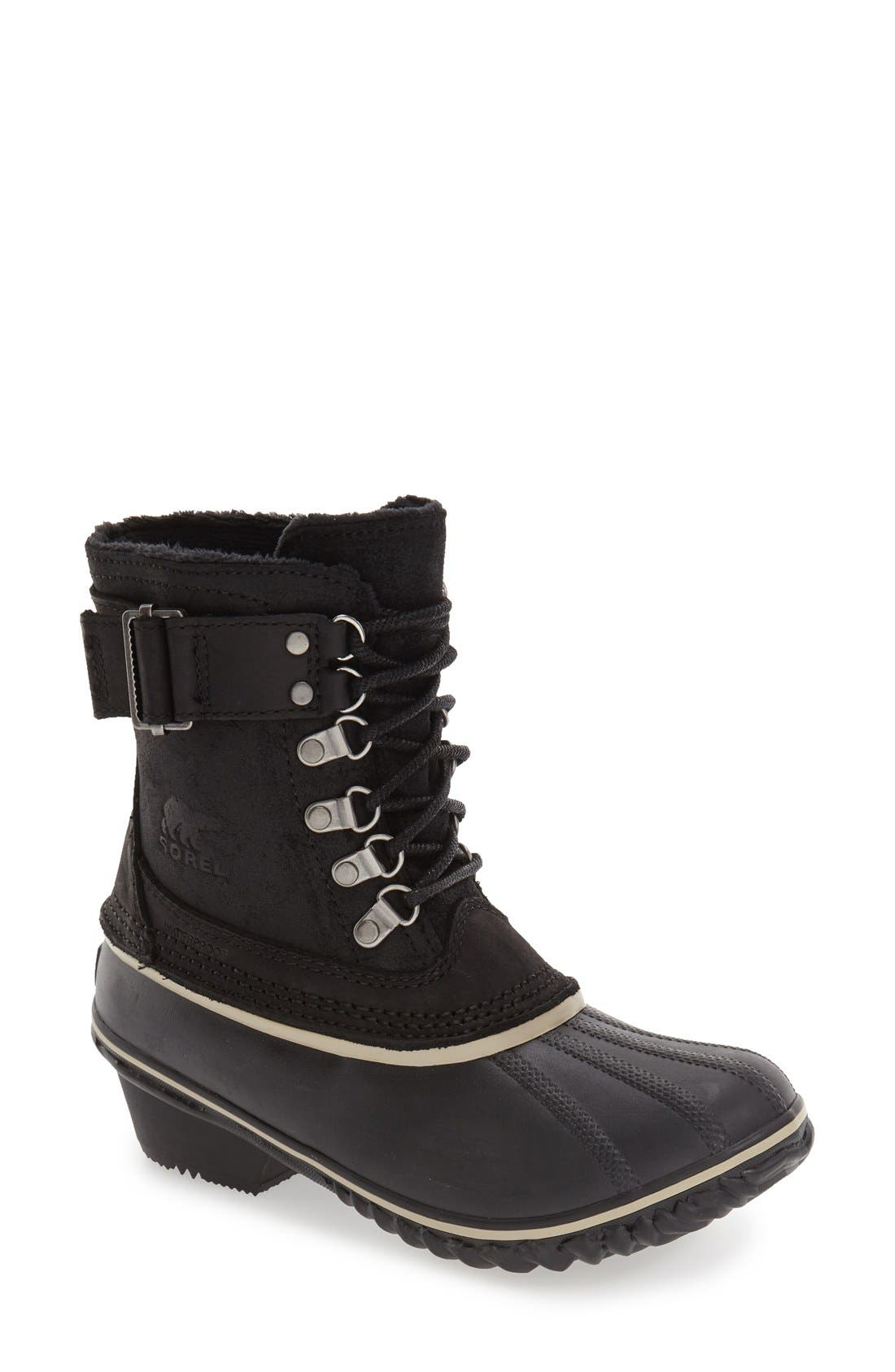 SOREL Winter Fancy II Waterproof Lace-Up Boot