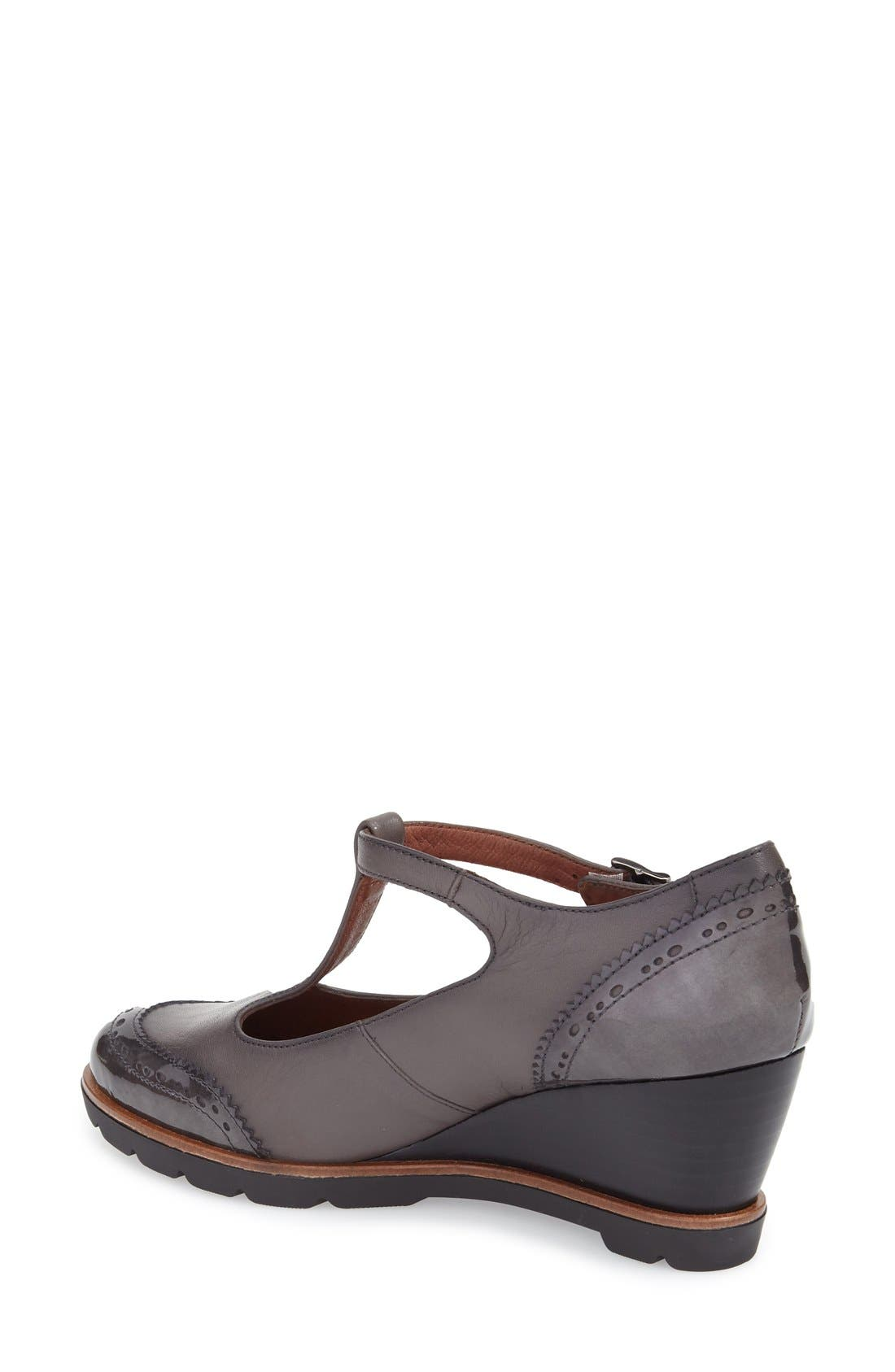Alternate Image 2  - Hispanitas 'Halea' T-Strap Wedge Pump (Women)