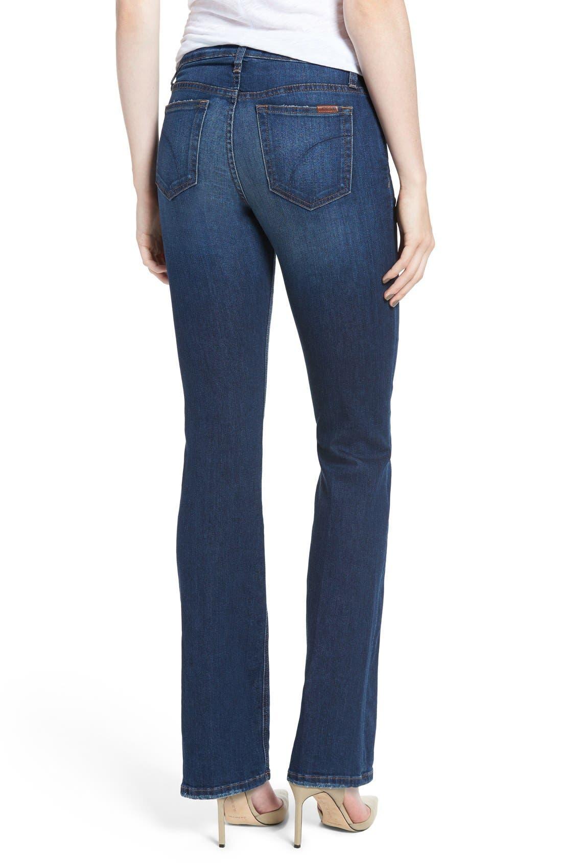 Alternate Image 2  - Joe's 'Flawless - Honey' Curvy Bootcut Jeans (Lyla)
