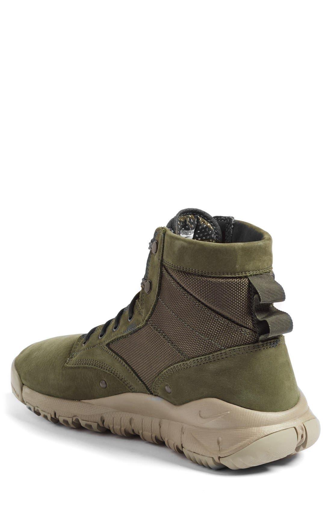 'SFB' Plain Toe Boot,                             Alternate thumbnail 2, color,                             Cargo Khaki/ Cargo Khaki