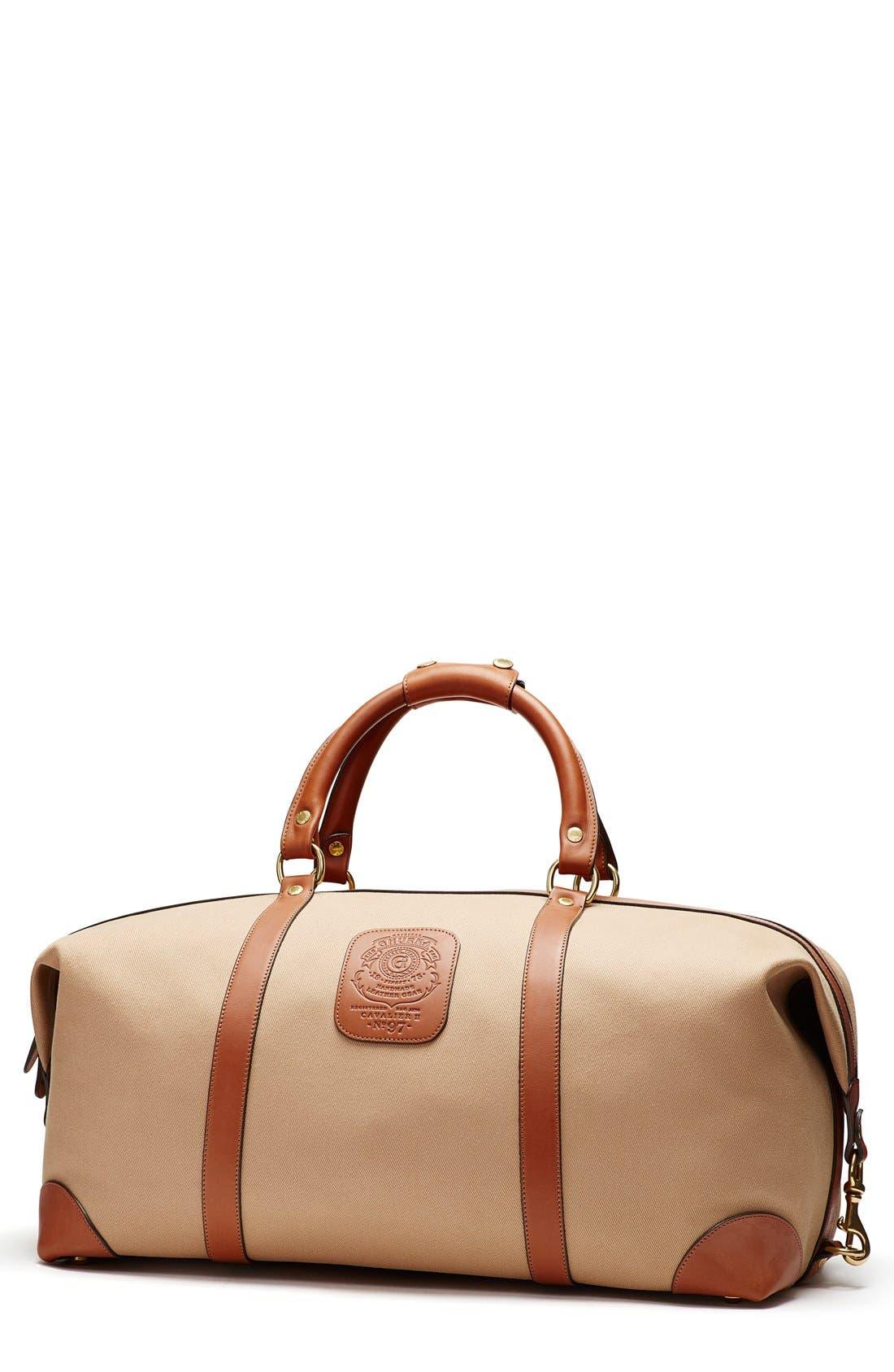 Ghurka 'Cavalier II' Canvas Duffel Bag