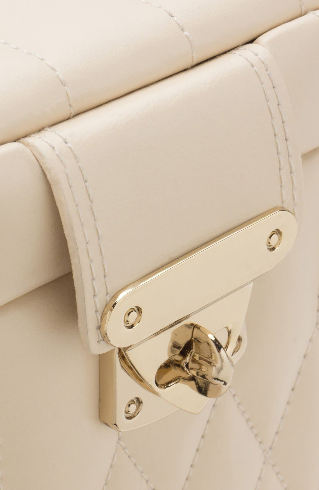 'Caroline' Jewelry Case,                             Alternate thumbnail 9, color,                             Ivory