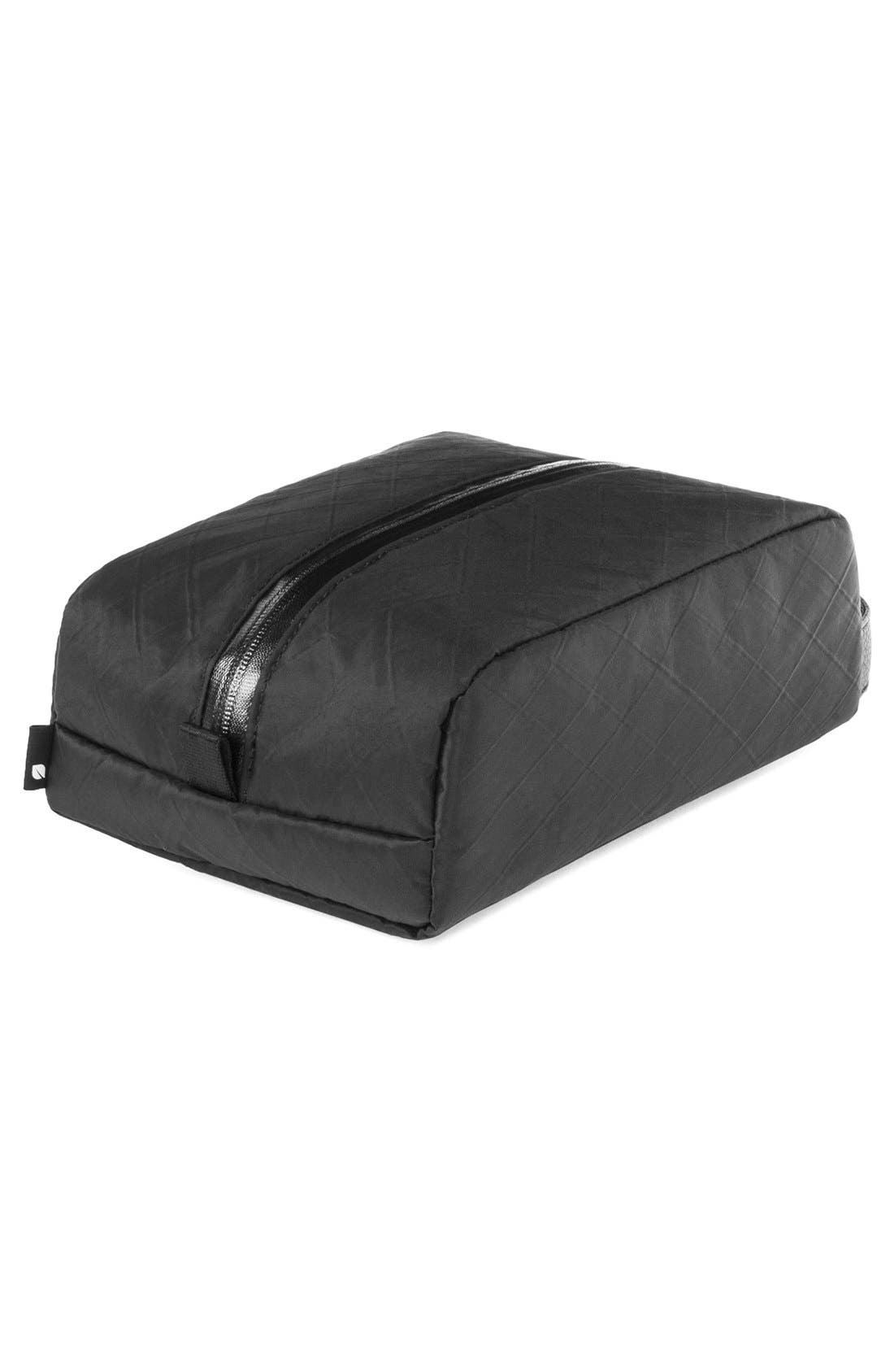 Diamond Wire Dopp Kit,                             Alternate thumbnail 11, color,                             Black