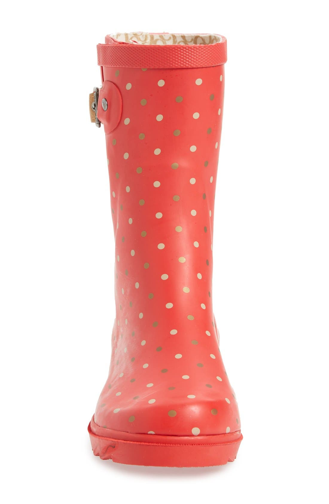 Alternate Image 3  - Chooka 'Classic Dot' Mid High Rain Boot (Women)