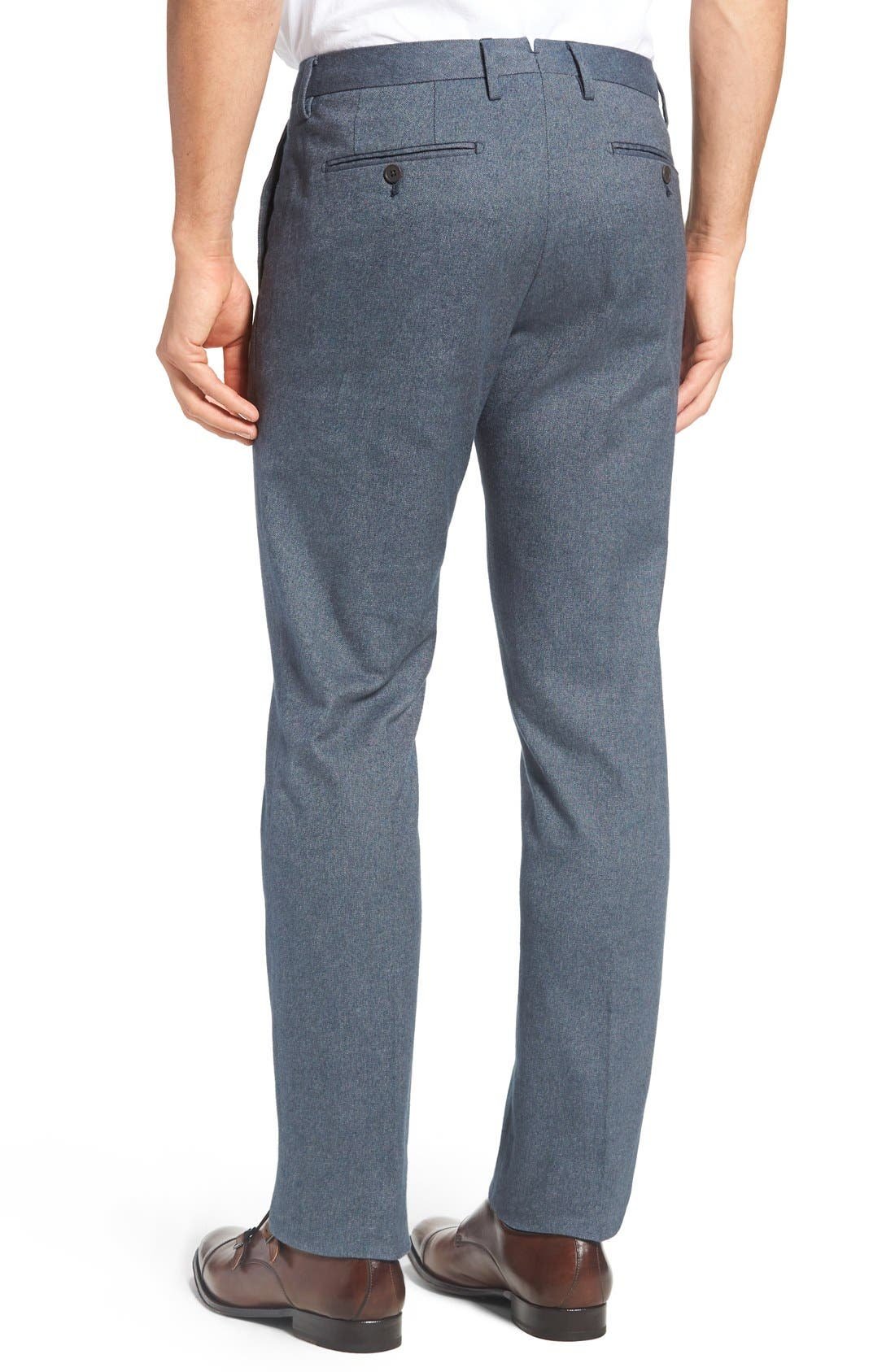 Alternate Image 2  - Bonobos Foundation Slim Fit Trousers