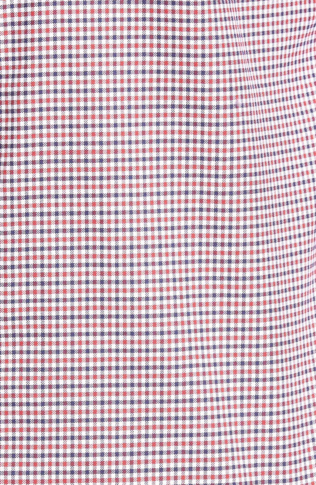 Alternate Image 5  - Gant Gingham Fitted Sport Shirt