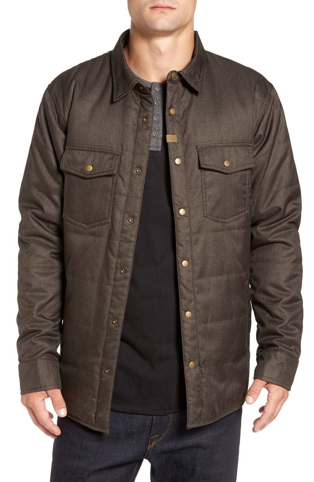 IMPERIAL MOTION Carton Reversible Quilted Shirt Jacket