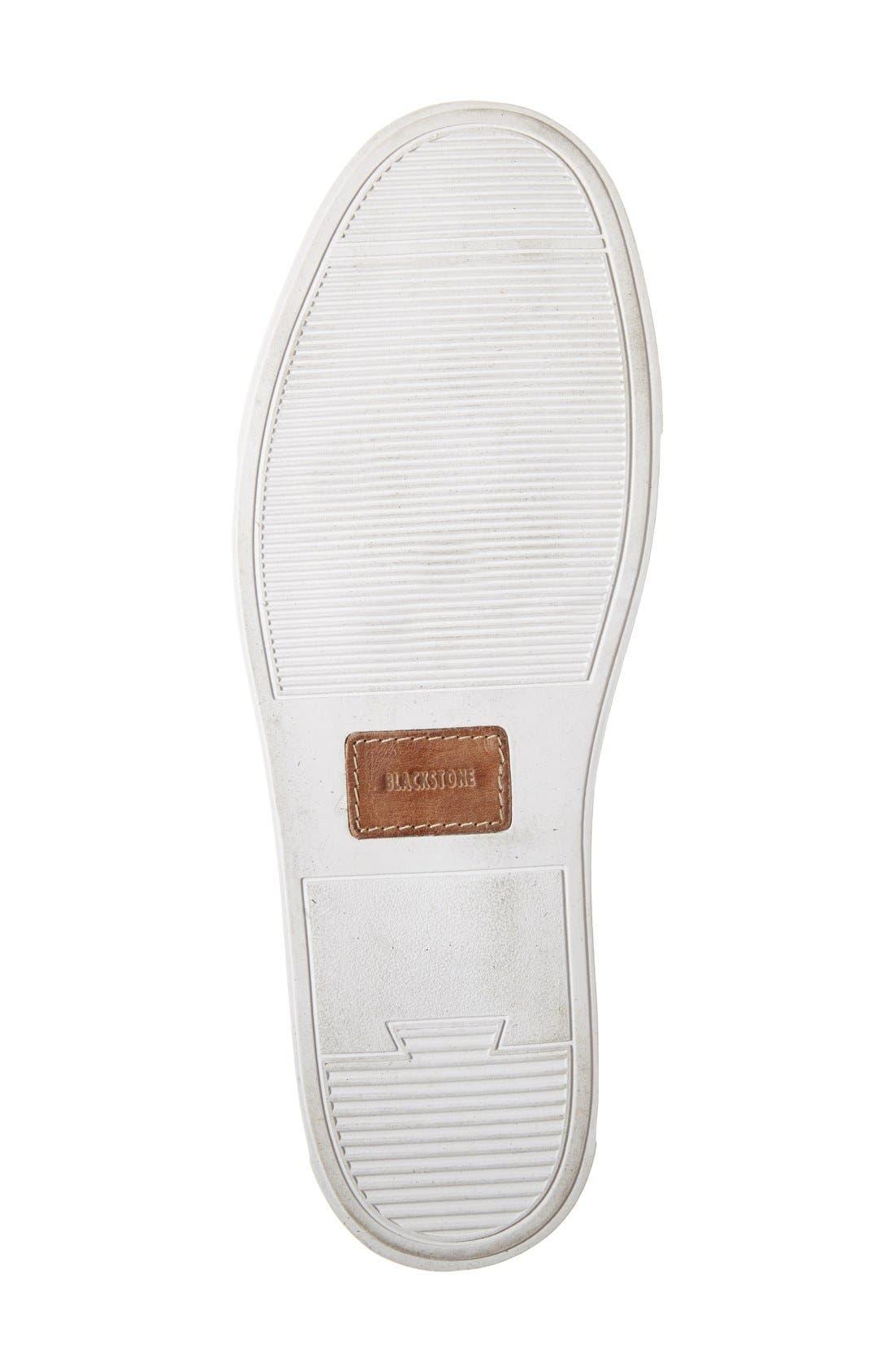 Blacktone 'LM24' Sneaker,                             Alternate thumbnail 4, color,                             White
