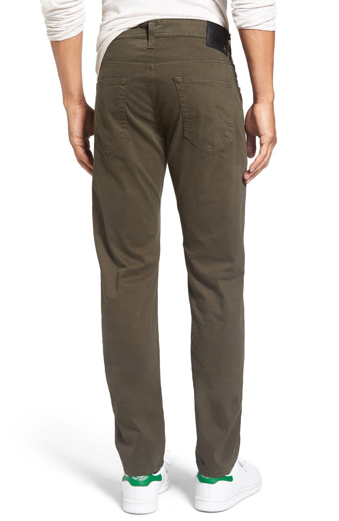 Alternate Image 2  - AG Dylan Slim Fit Pants
