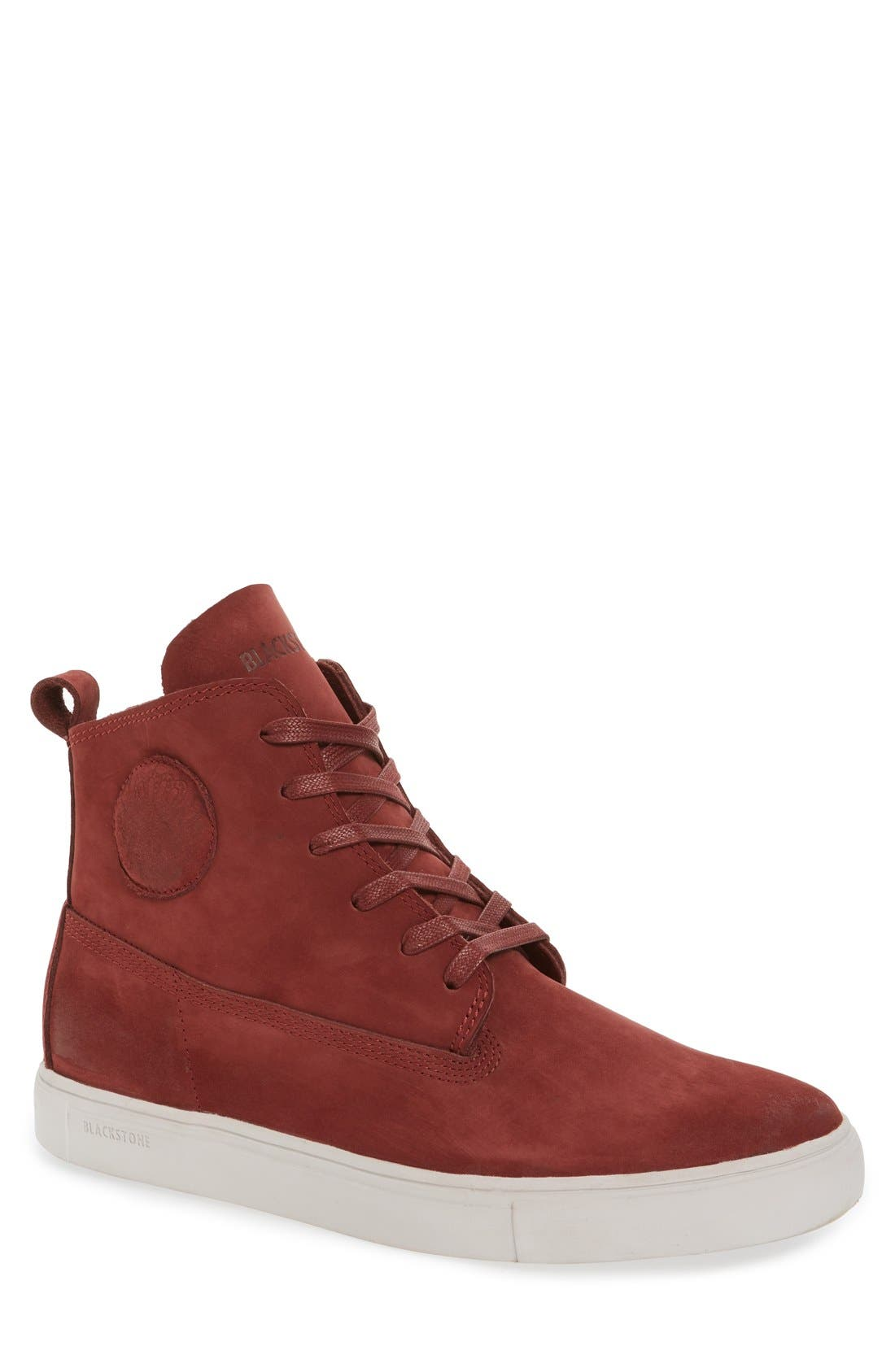 'MM33' High Top Sneaker,                         Main,                         color, Port