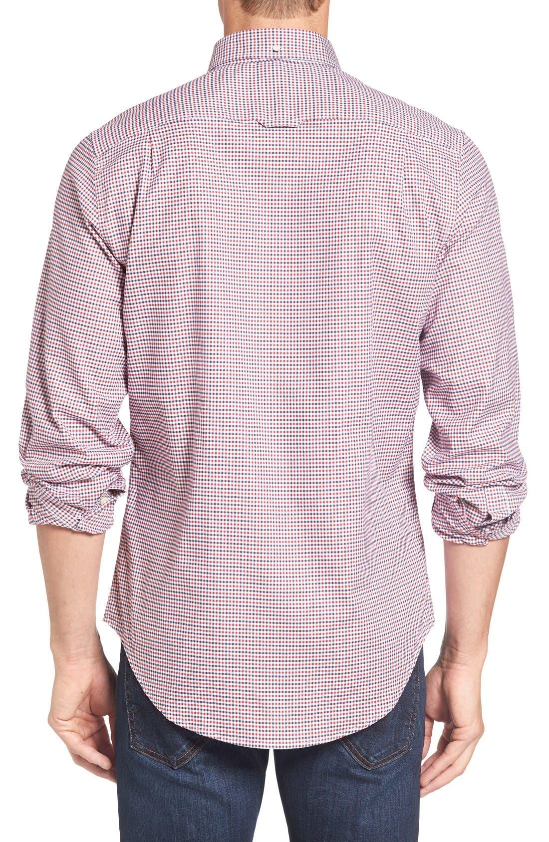 Alternate Image 2  - Gant Gingham Fitted Sport Shirt