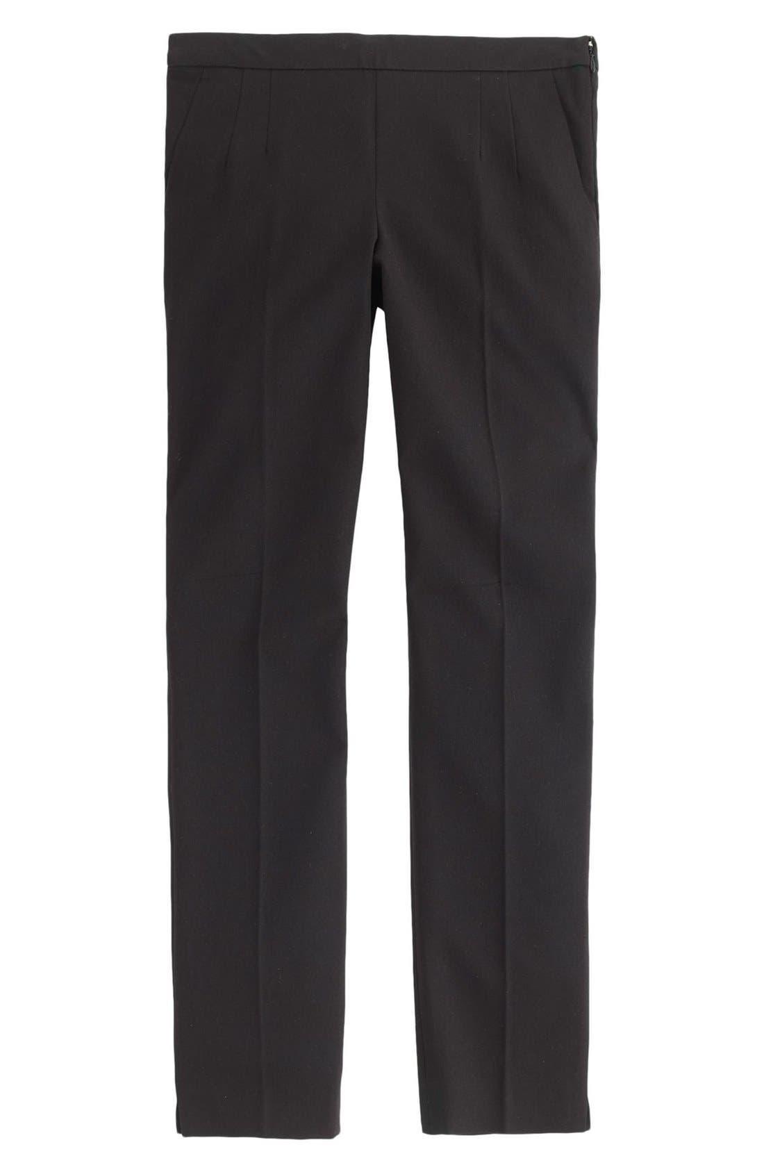 Alternate Image 3  - J.Crew 'Martie' Bi-Stretch Cotton Blend Pants (Regular & Petite)