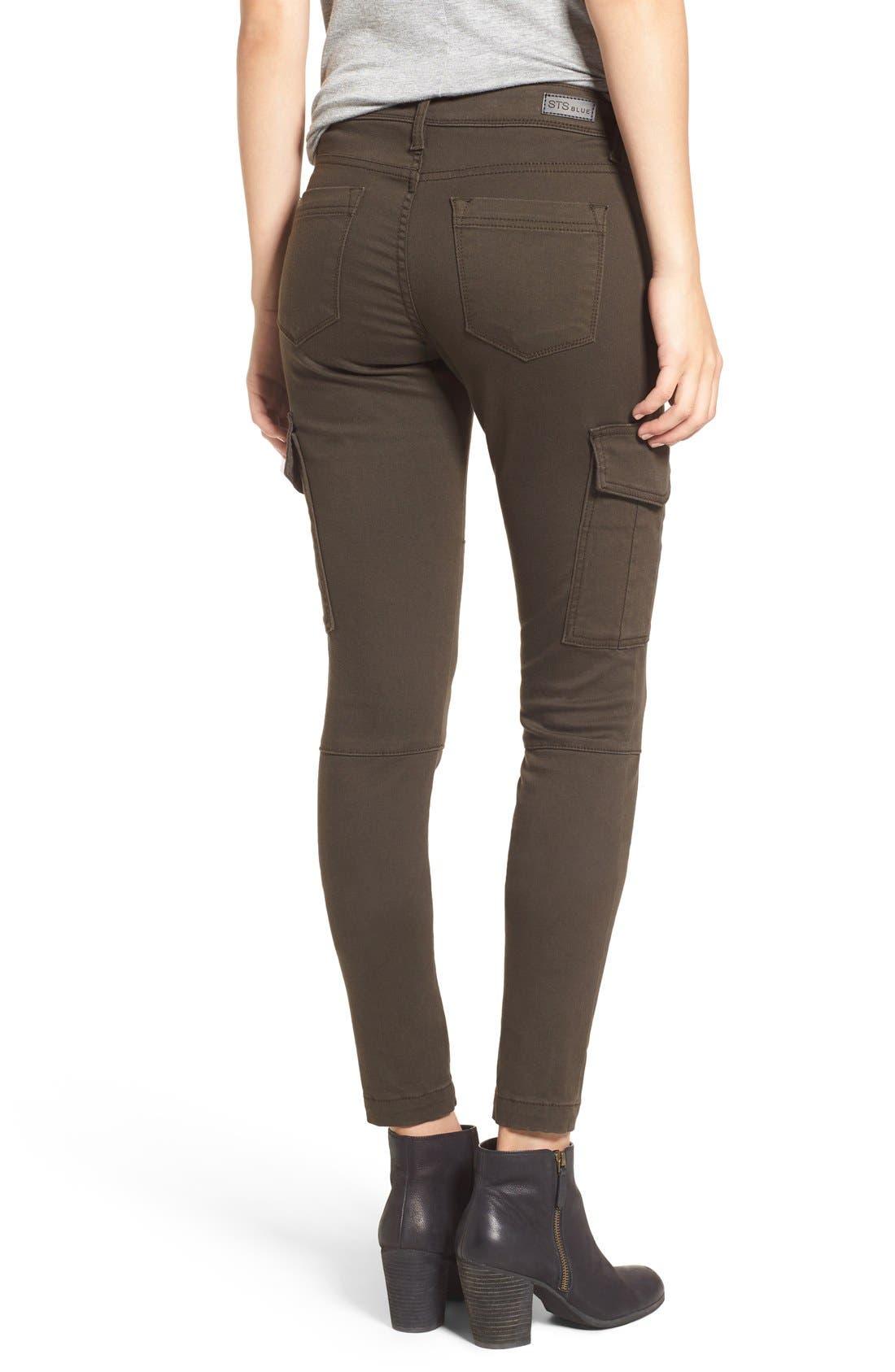 Alternate Image 3  - STS Blue Cargo Pocket Skinny Pants