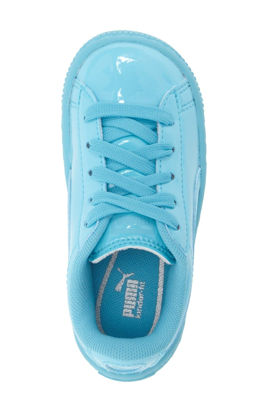 'Basket Classic' Shoe,                             Alternate thumbnail 3, color,                             Blue Atoll-Blue Atoll