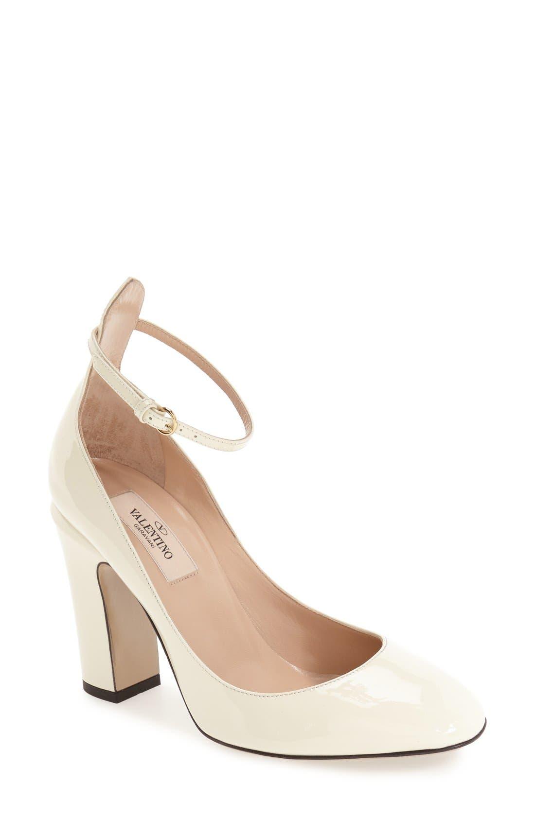 Alternate Image 1 Selected - Valentino 'Tango' Ankle Strap Pump (Women)