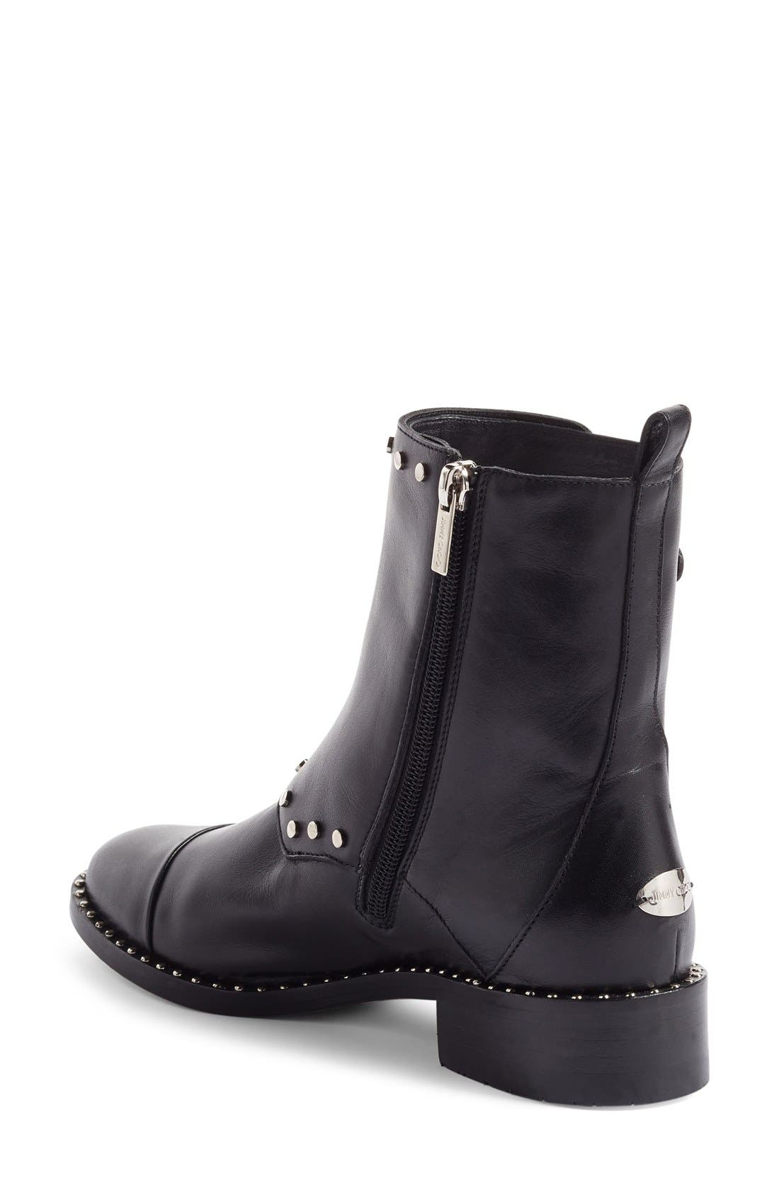 Alternate Image 2  - Jimmy Choo Baxter Combat Boot (Women)