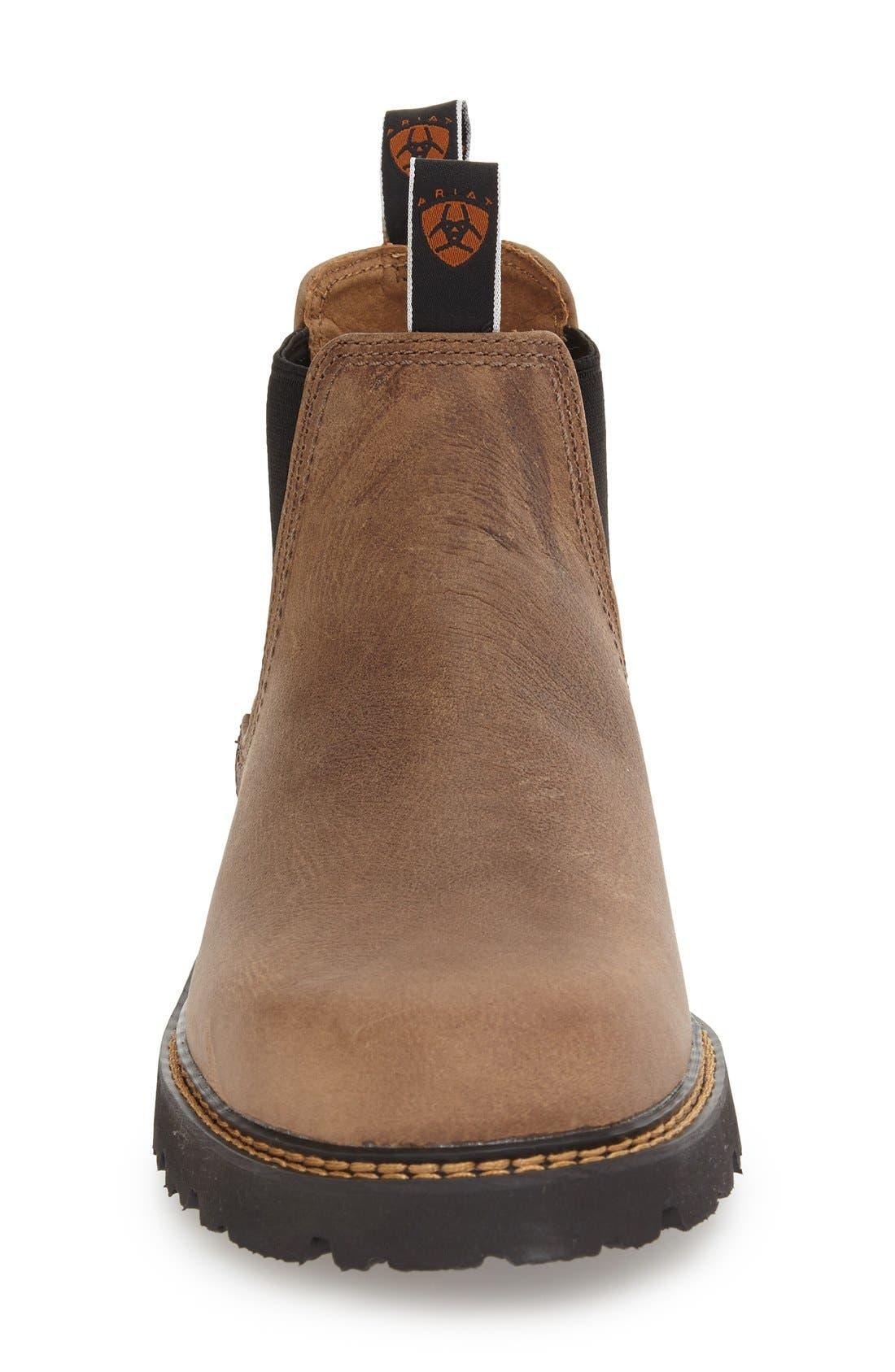 Alternate Image 3  - Ariat 'Spot Hog' Chelsea Boot (Men)