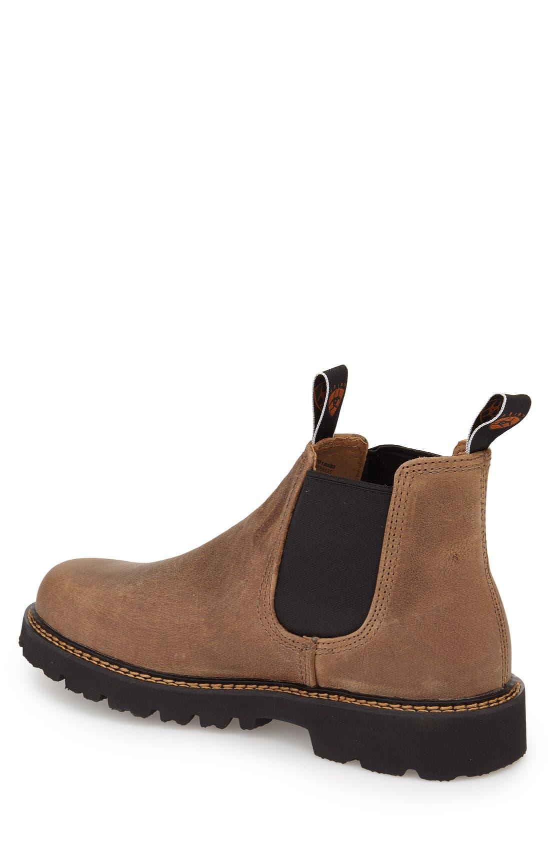 Alternate Image 2  - Ariat 'Spot Hog' Chelsea Boot (Men)