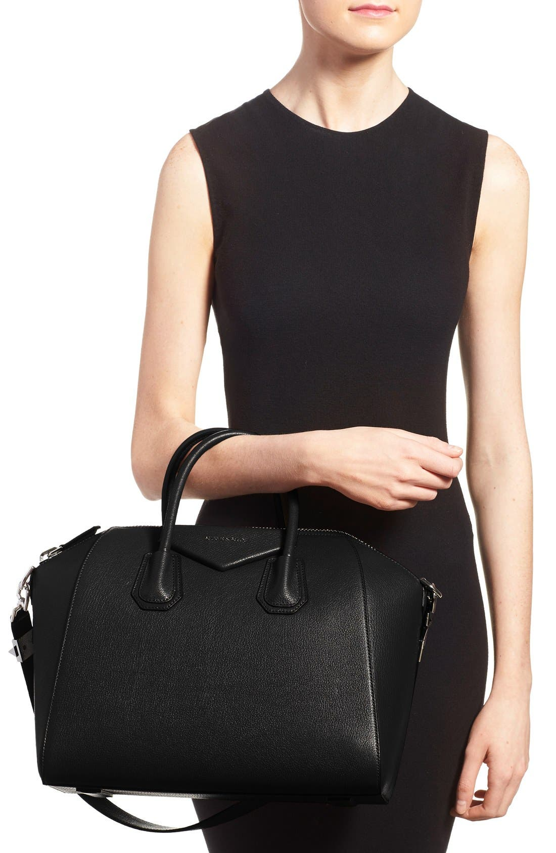 Alternate Image 2  - Givenchy 'Medium Antigona' Sugar Leather Satchel