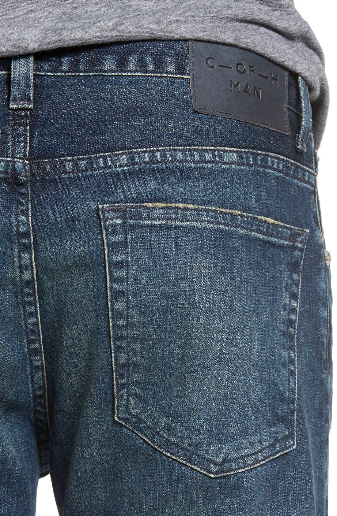 Bowery Slim Fit Jeans,                             Alternate thumbnail 4, color,                             Wild
