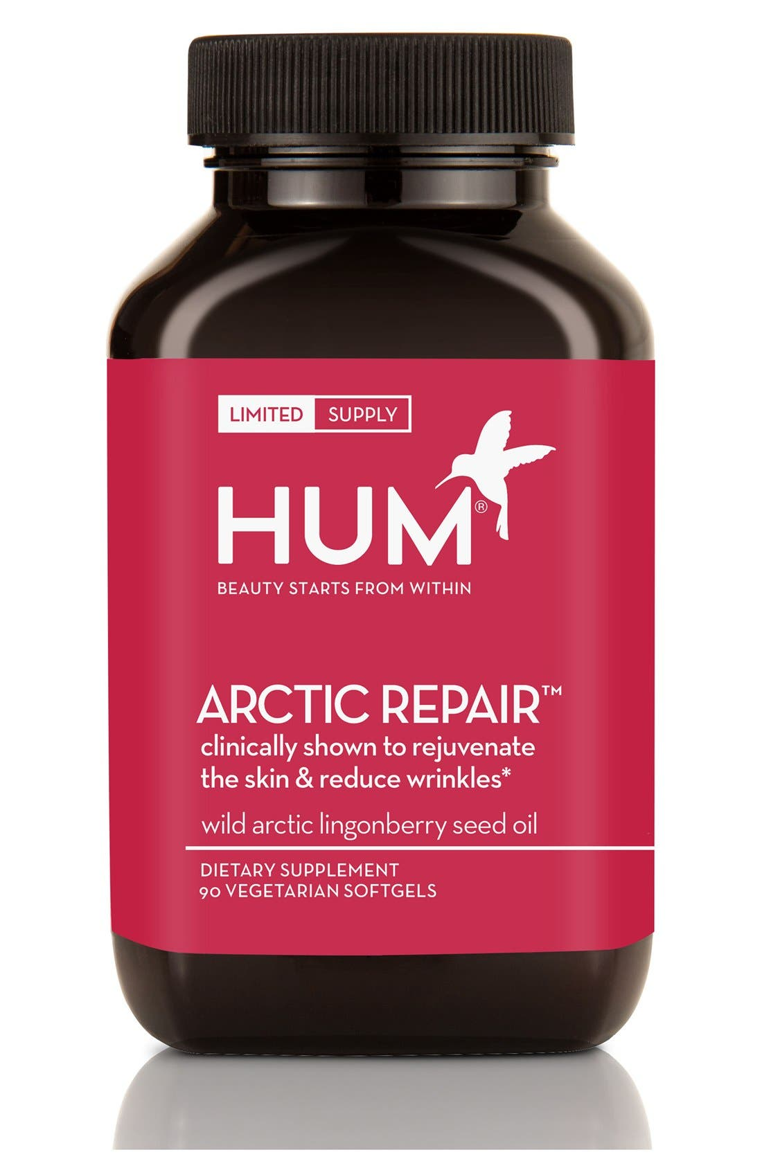 Hum Nutrition Arctic Repair Supplement for Fine Lines and Wrinkles