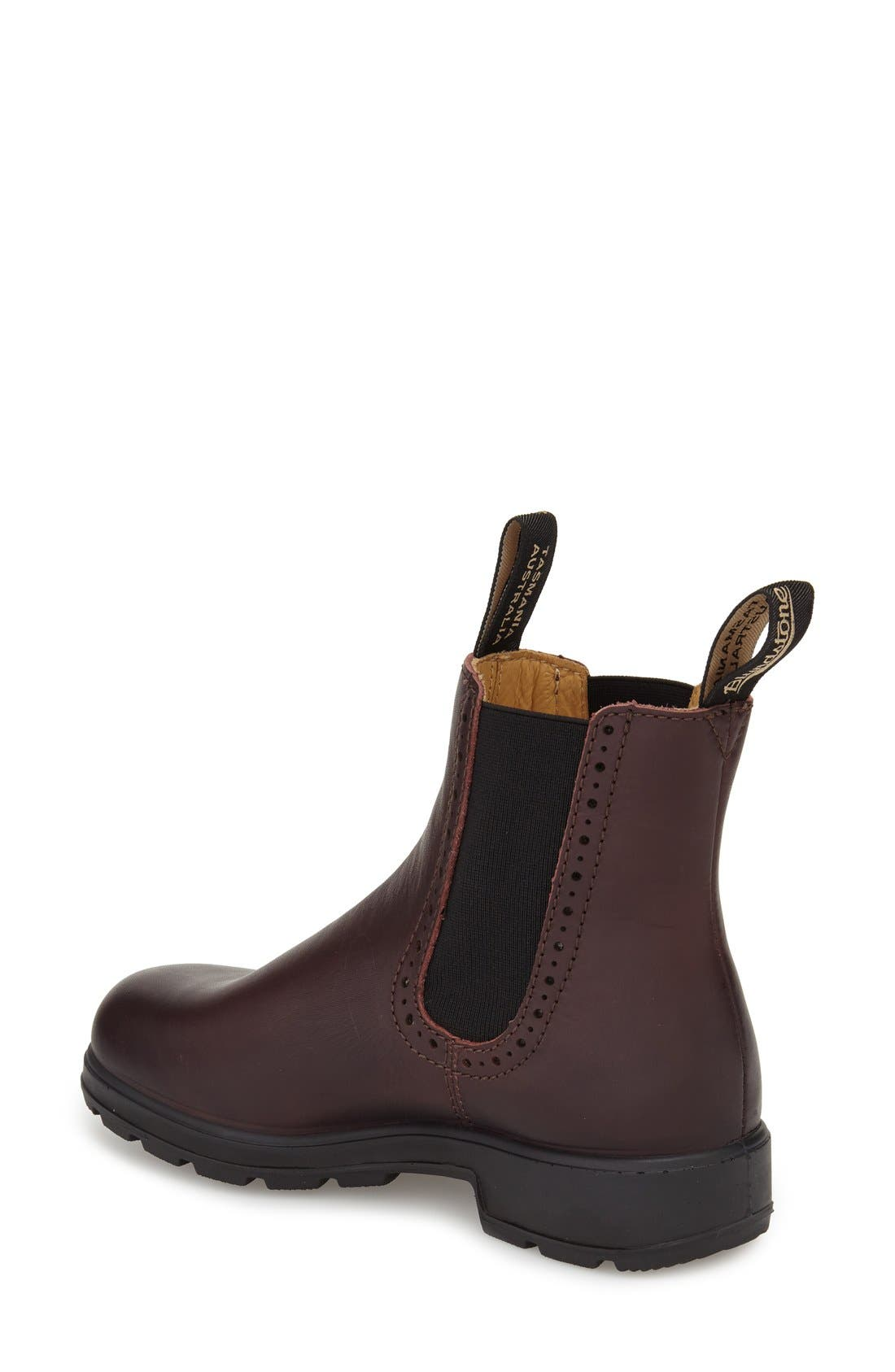 Footwear 'Original Series' Water Resistant Chelsea Boot,                             Alternate thumbnail 2, color,                             Shiraz Leather