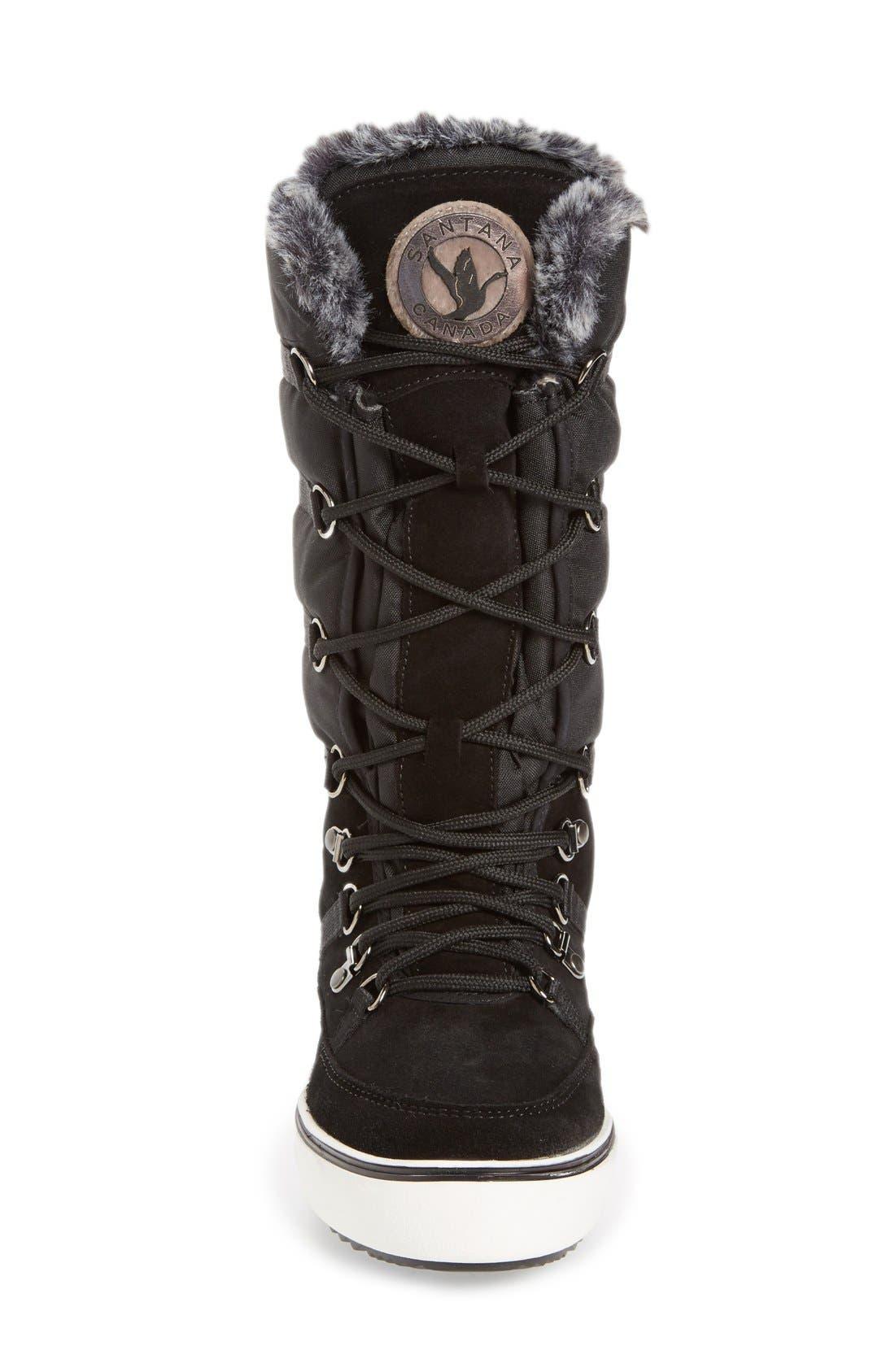 Alternate Image 3  - Santana Canada 'Mackenzie' Faux Fur Waterproof Boot (Women)