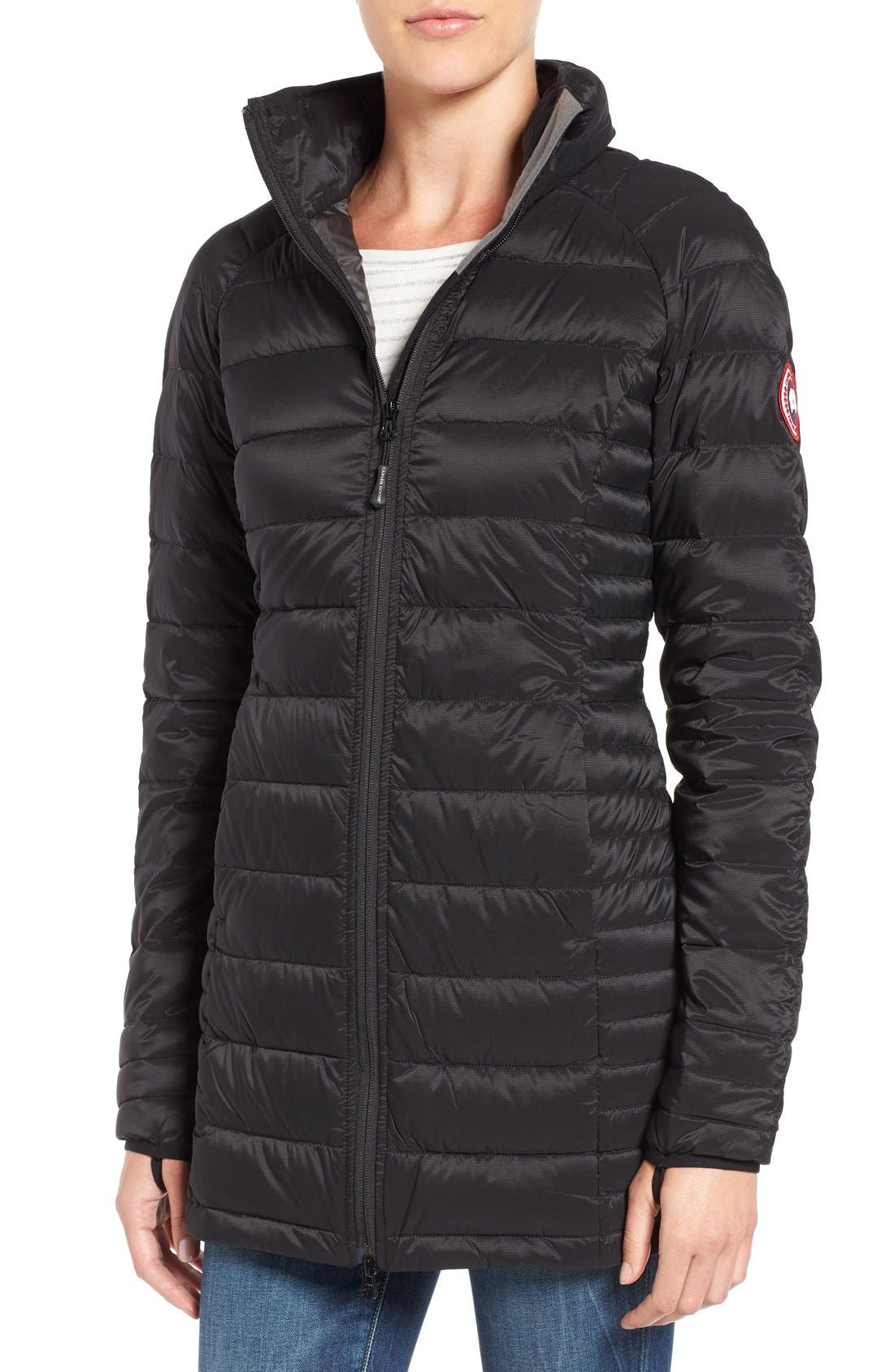 Alternate Image 1 Selected - Canada Goose 'Brookvale' Hooded Quilted Down Coat