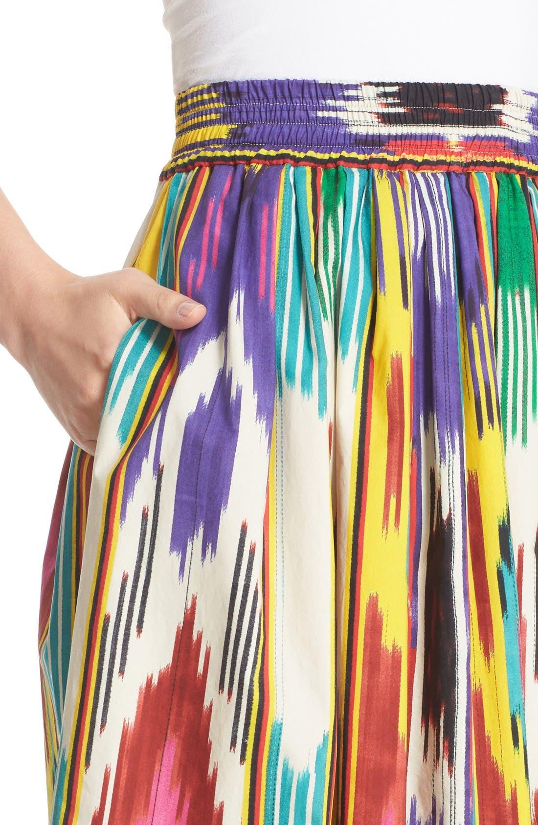 Alternate Image 6  - Etro Ikat Print Skirt
