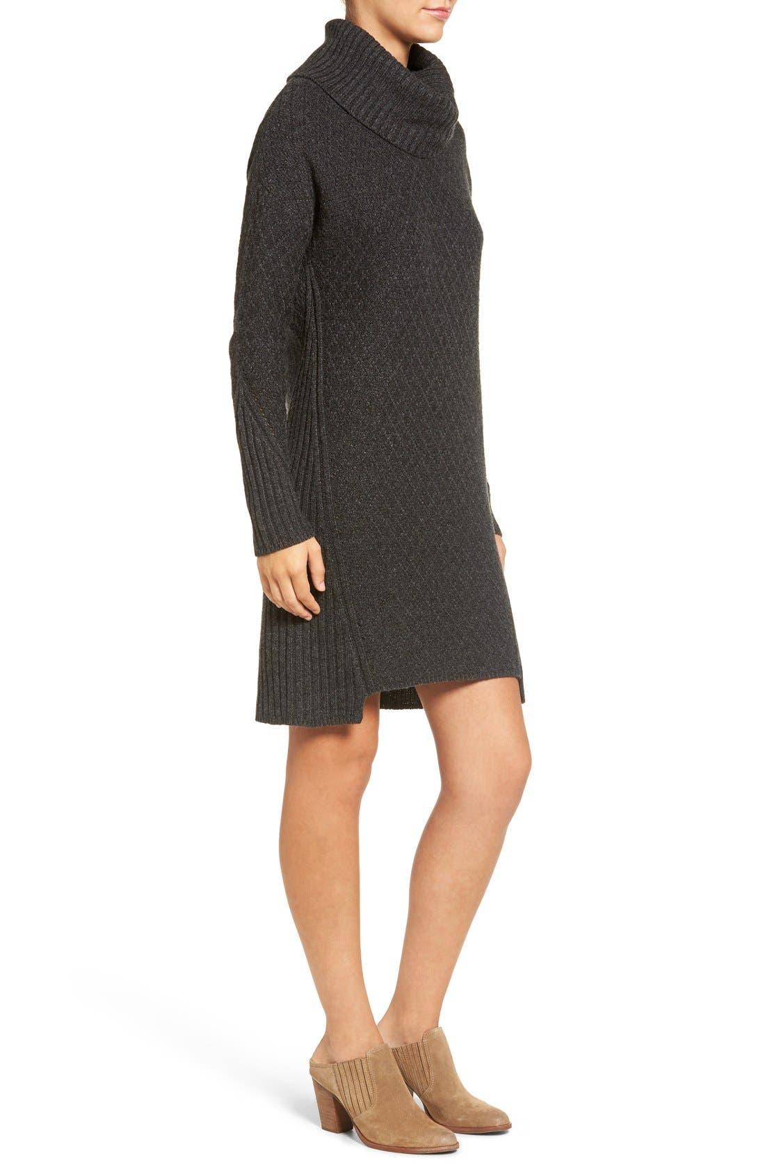 Alternate Image 3  - Treasure&Bond Turtleneck Sweater Dress