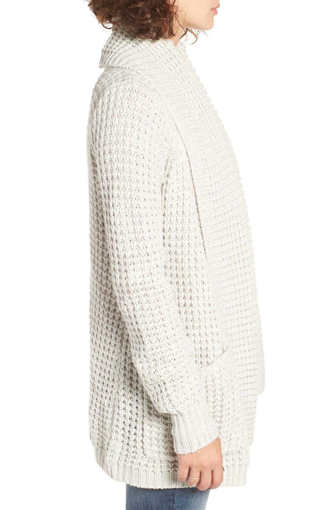 Alternate Image 4  - Rip Curl Shambala Knit Cardigan