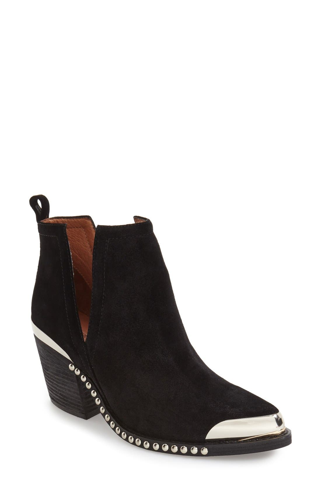Alternate Image 1 Selected - Jeffrey Campbell Optimum Pointy Toe Bootie (Women)