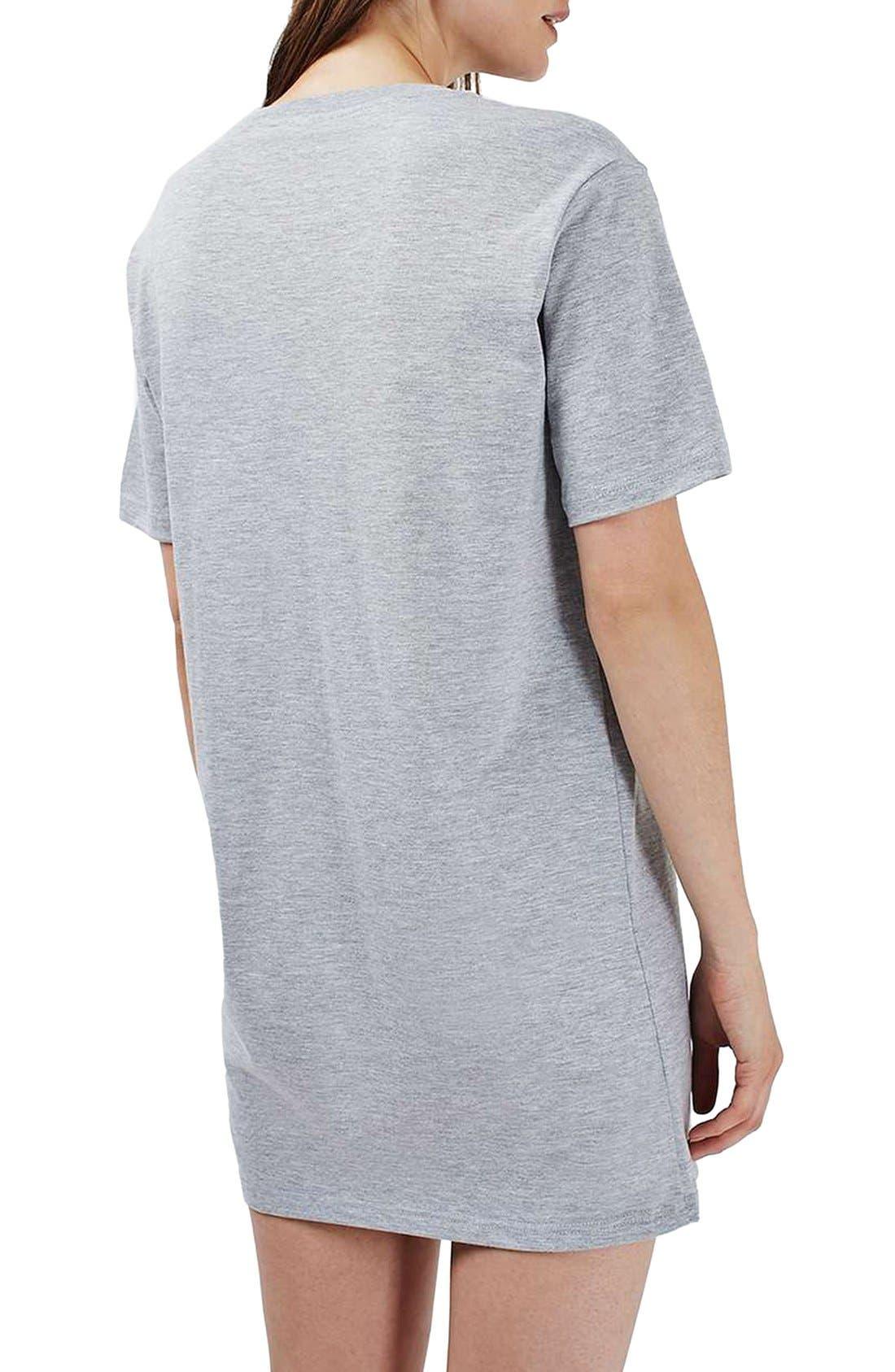 Alternate Image 3  - Topshop Nachos and Chill Sleep Shirt