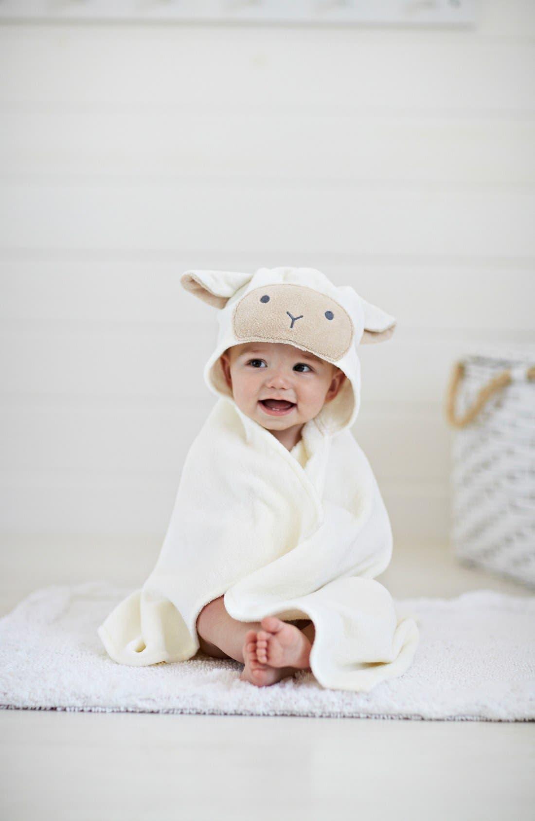 Elegant Baby Velour Bath Wrap