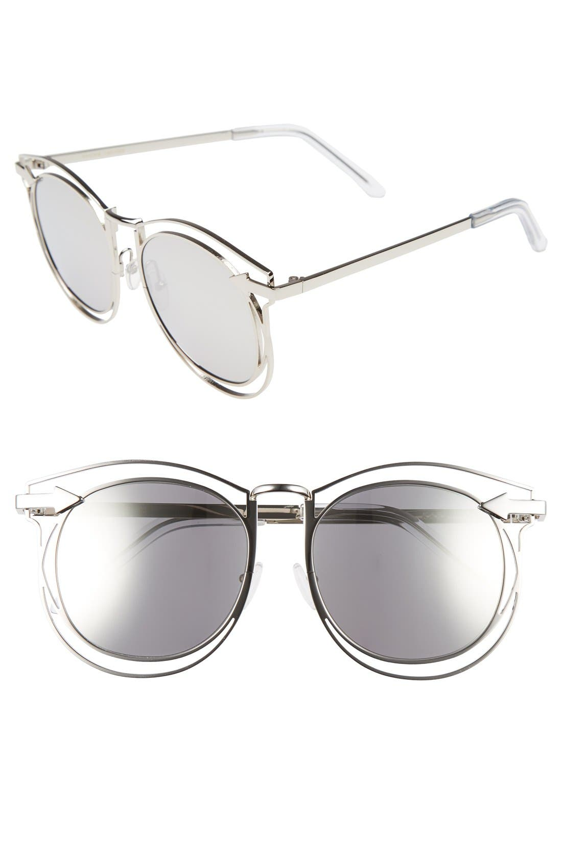 Main Image - Karen Walker 'Simone' 54mm Retro Sunglasses