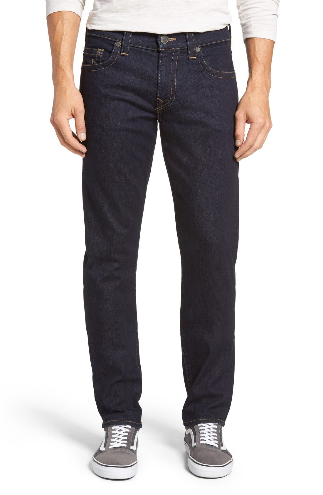 Geno Straight Leg Jeans,                         Main,                         color, 2S Body Rinse