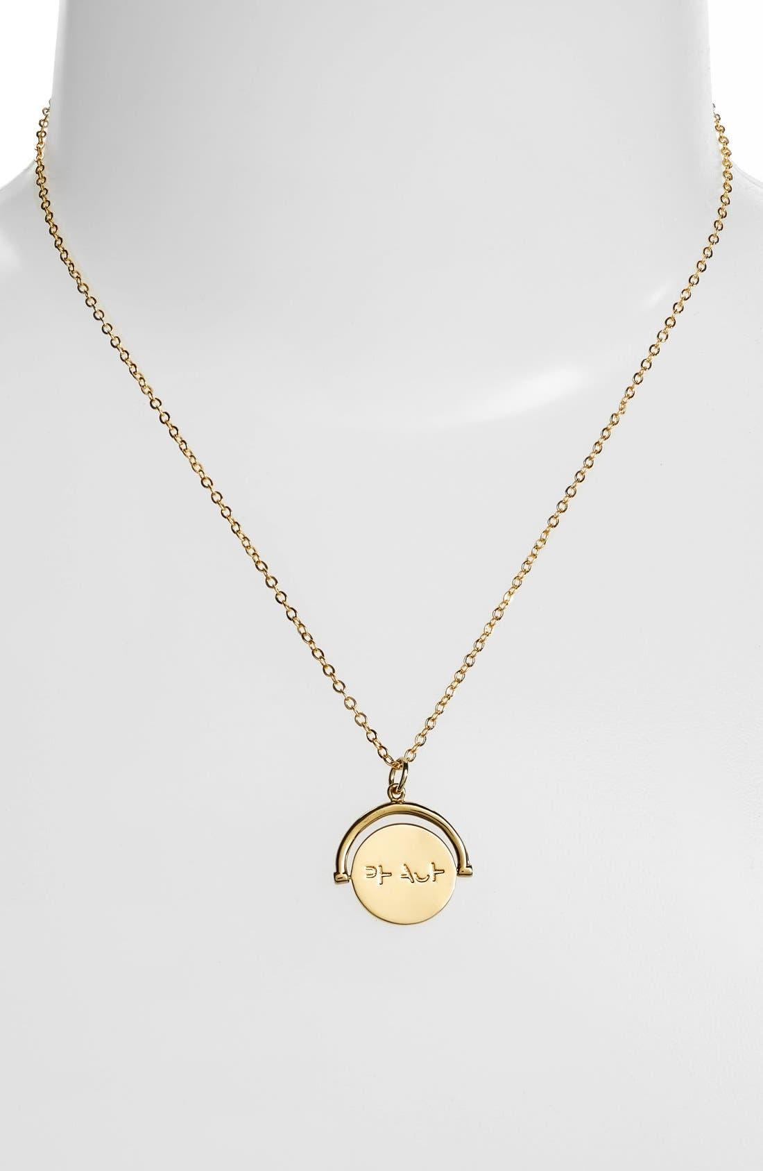 Alternate Image 3  - lulu dk Peace Love Code Charm Necklace