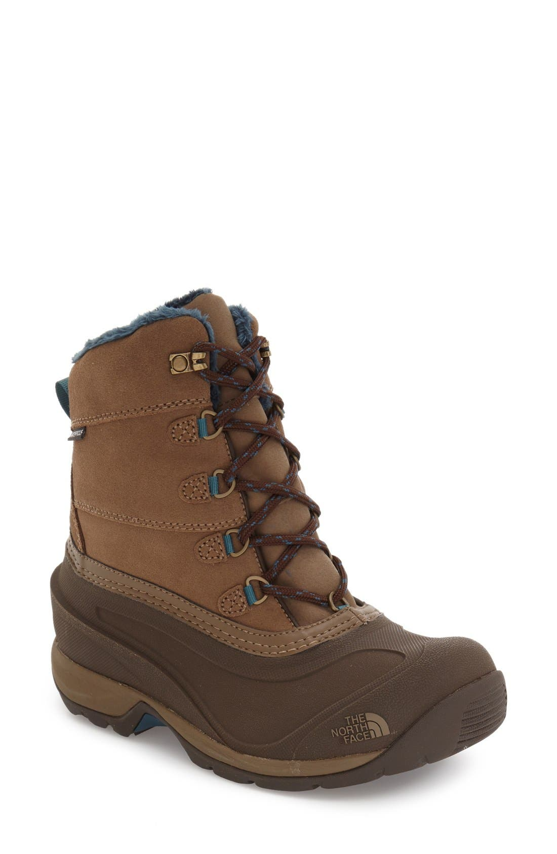 Alternate Image 1 Selected - The North Face 'Chilkat III' Waterproof Insulated Snow Boot (Women)