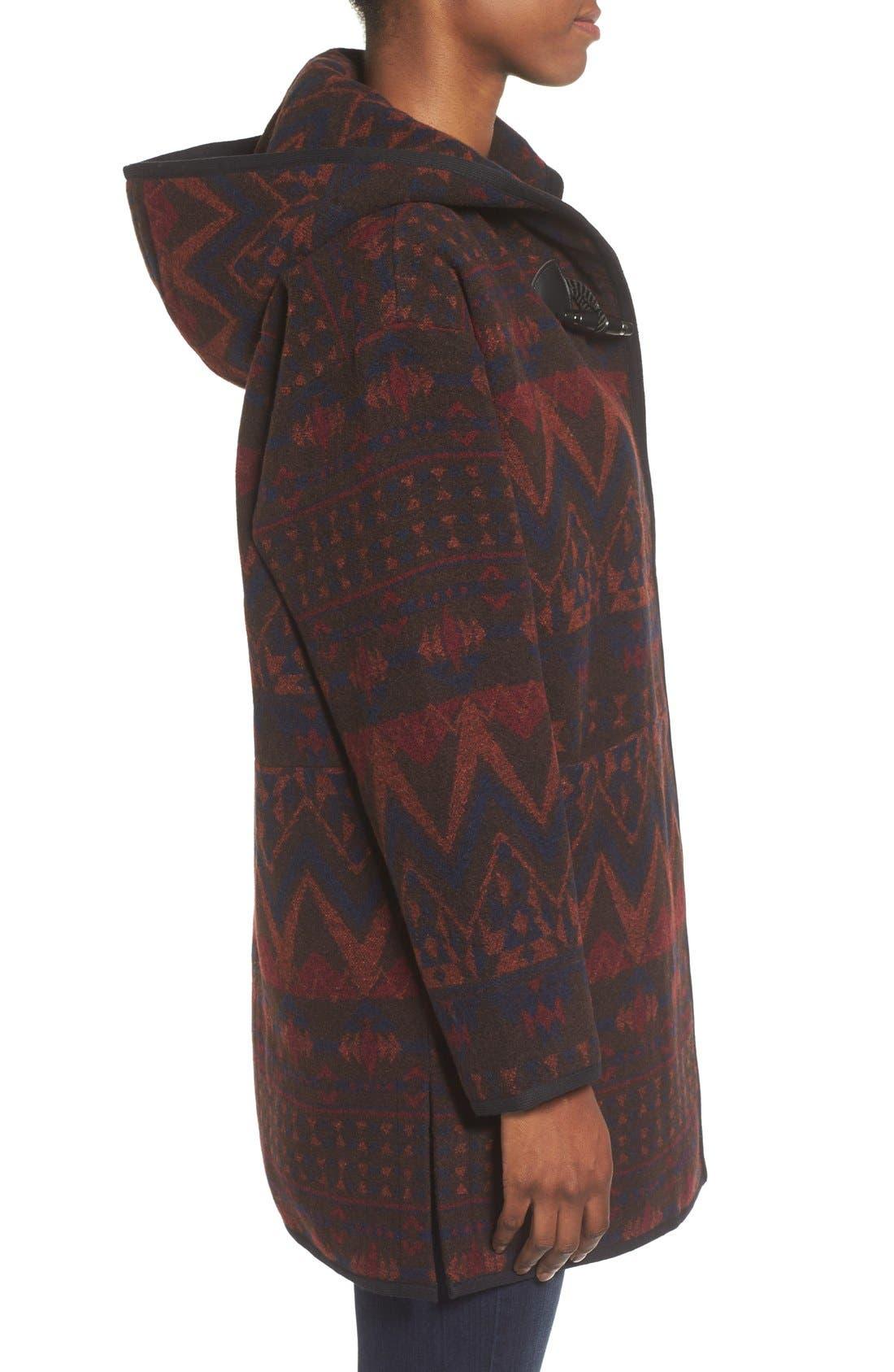 Alternate Image 3  - kensie Teddy Duffle Coat