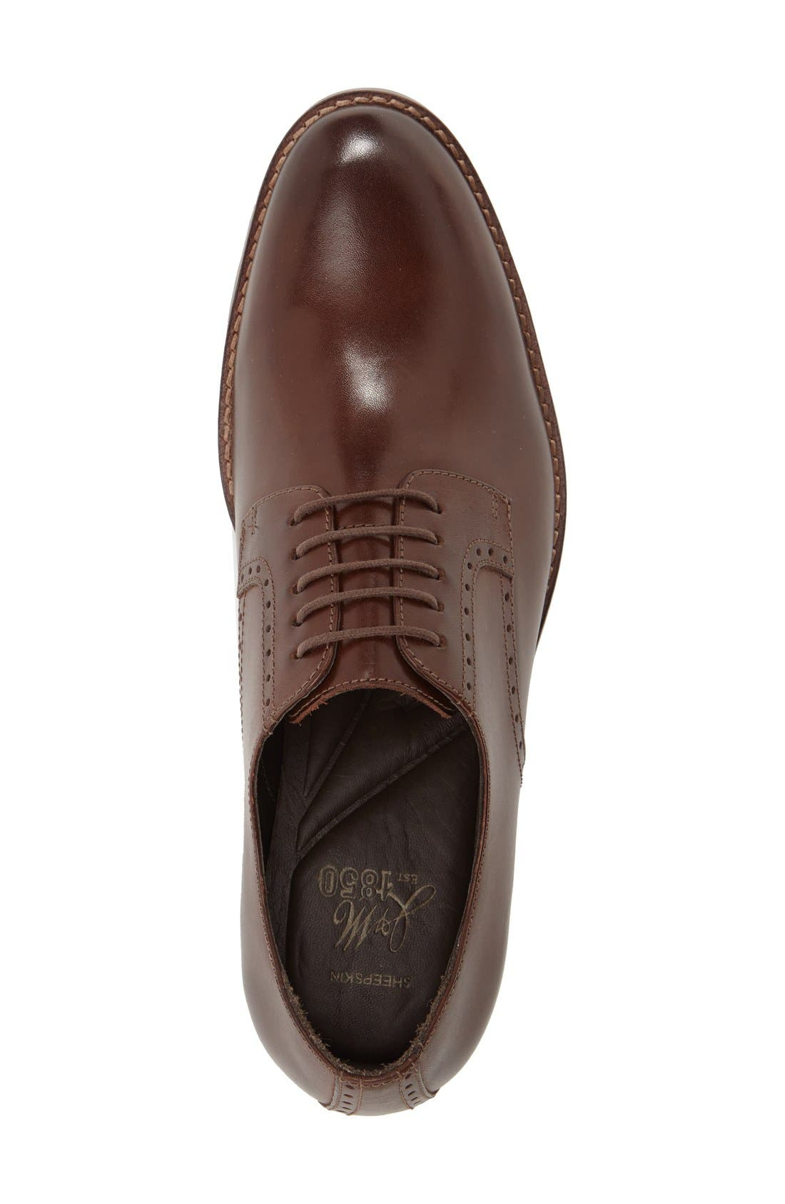 Alternate Image 3  - J&M 1850 'Meritt Plain Toe Derby (Men) (Nordstrom Exclusive)