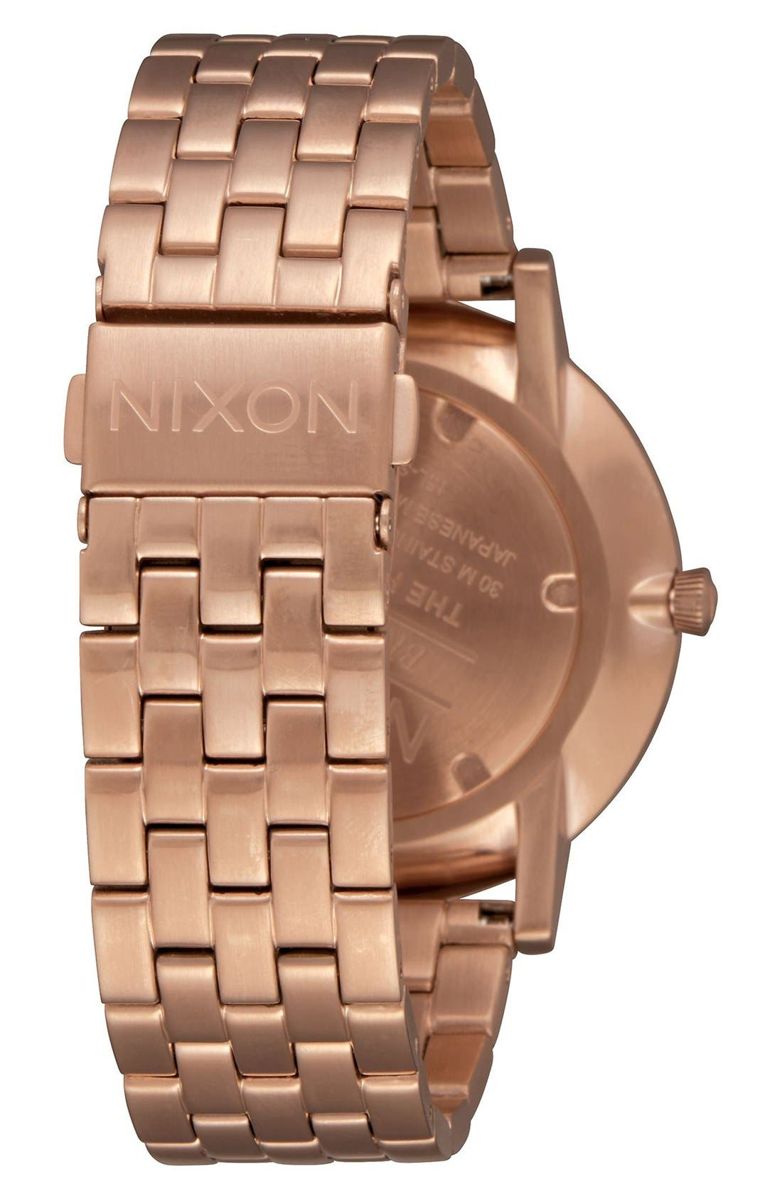 Alternate Image 2  - Nixon Porter Bracelet Watch, 40mm