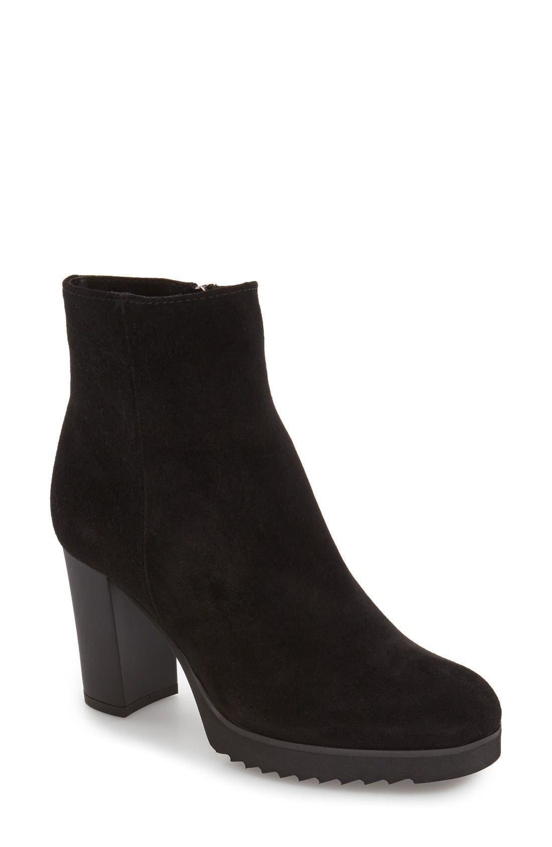 Alternate Image 1 Selected - La Canadienne 'Myranda' Waterproof Block Heel Bootie (Women)