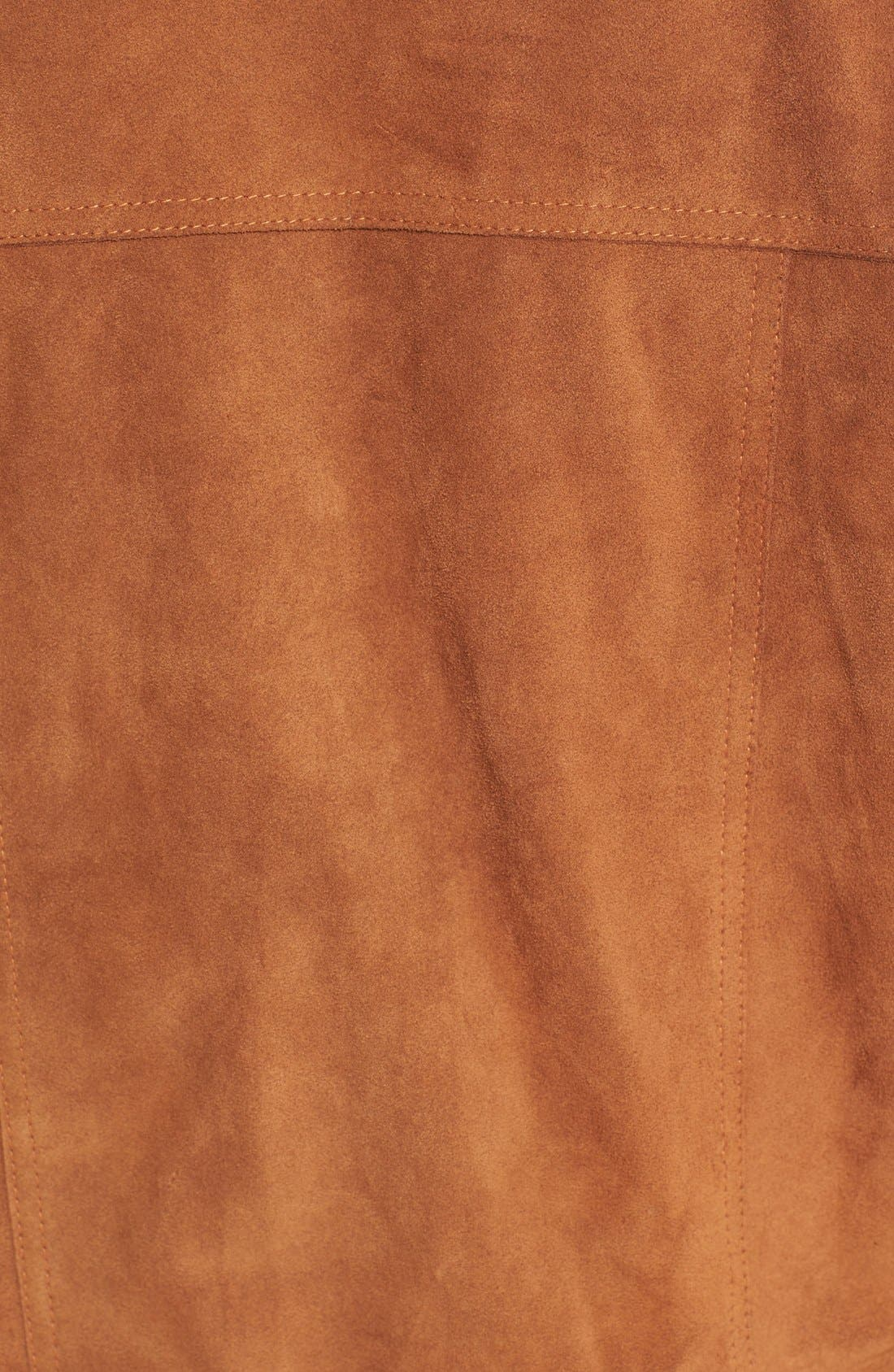 Alternate Image 6  - Vince Suede Jean Moto Jacket
